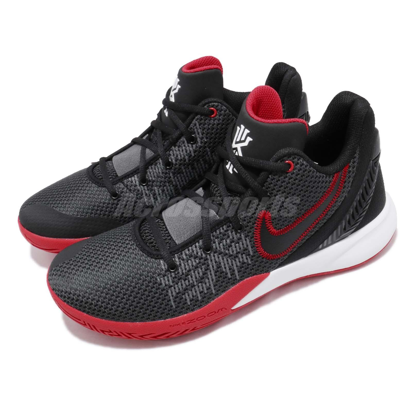sports shoes fc54f ea325 Details about Nike Kyrie Flytrap II EP Irving 2 Black Red Bred Mens Basketball  Shoe AO4438-016
