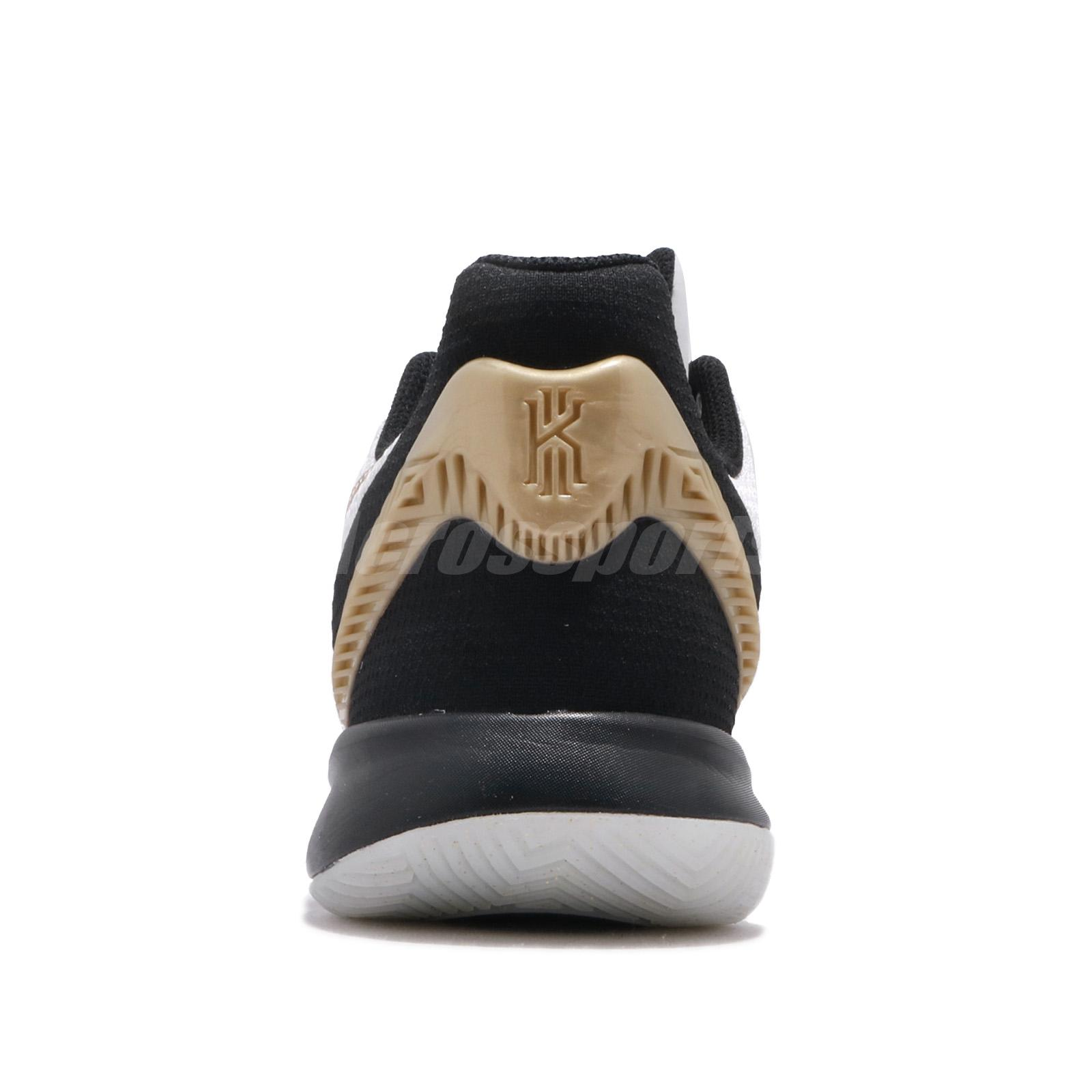 san francisco dcf0a 0003c Nike Kyrie Flytrap II EP 2 White Black Gold Mens Basketball Shoes ...
