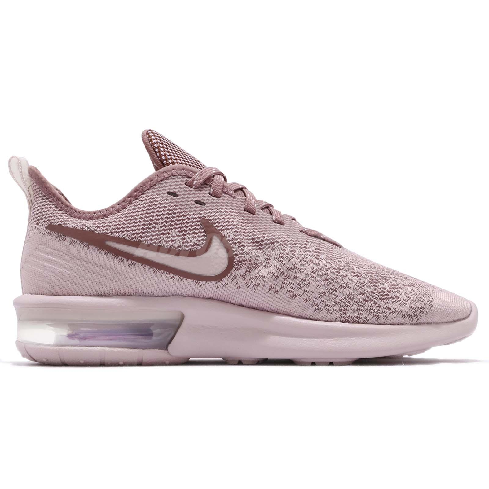 d942303c45a Nike Wmns Air Max Sequent 4 IV Particle Rose Women Running Shoes ...