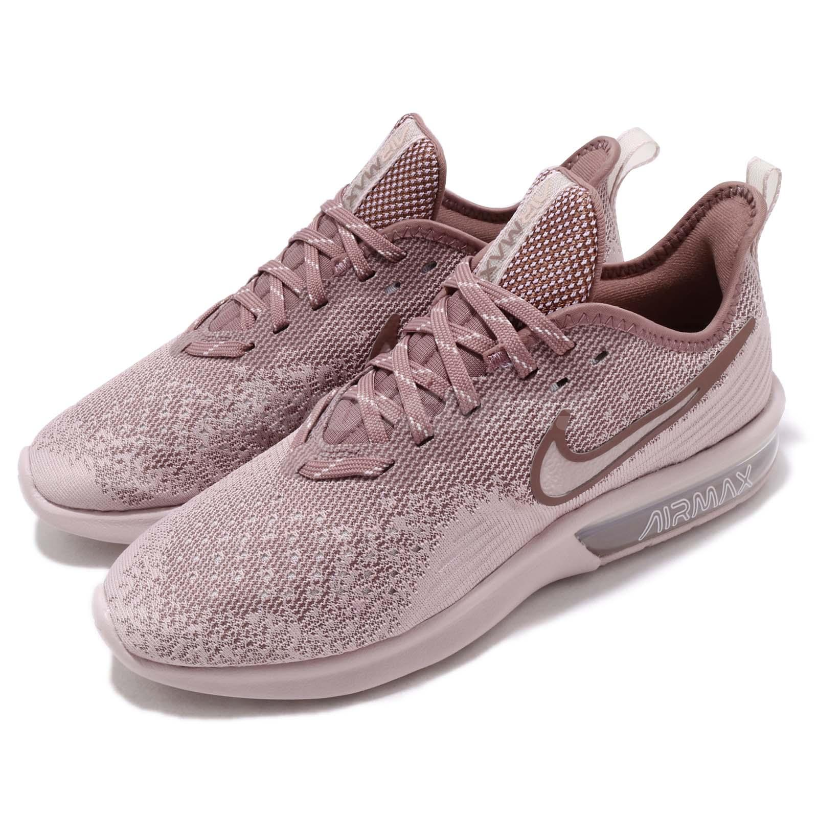 Details about Nike Wmns Air Max Sequent 4 IV Particle Rose Women Running Shoes AO4486 600