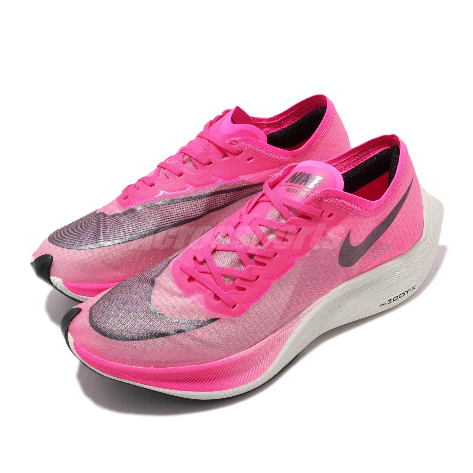 Details about Nike ZoomX Vaporfly NEXT% Pink Blast Black Mens Womens  Running Shoes AO4568-600