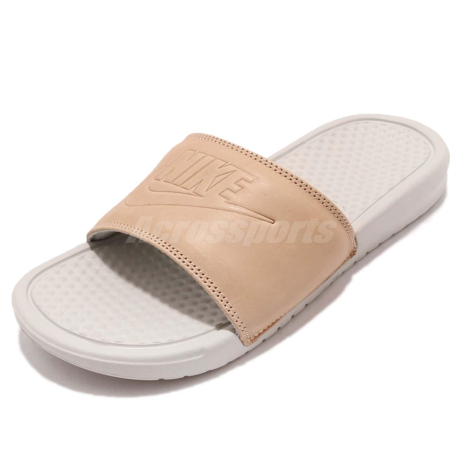 57856b87e Details about Nike Wmns Benassi JDI BP Vachetta Tan Brown Women Sports  Sandal Slide AO4642-200