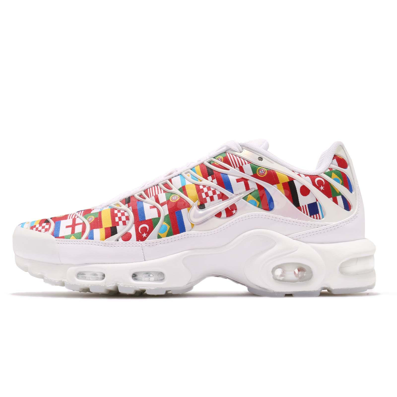 Nike Air Max Plus NIC FIFA World Cup International Flag Pack Sneakers  AO5117-100 cf17d64d83f8