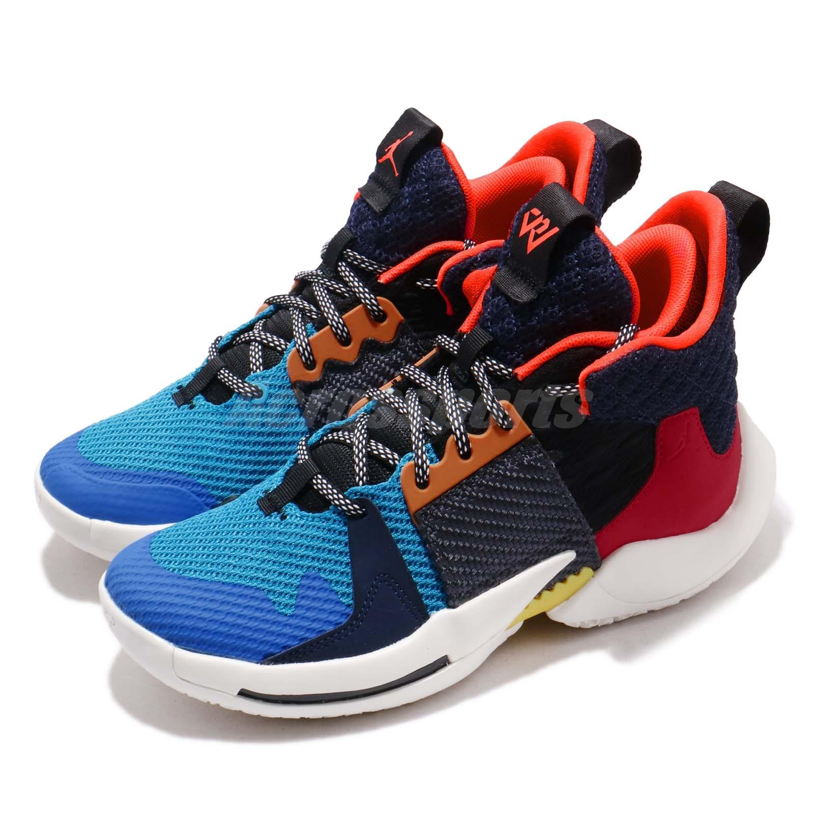 buy popular 010f3 c6024 Details about Nike Jordan Why Not Zer0.2 GS Multi-Color Russell Westbrook  Kid Women AO6218-900