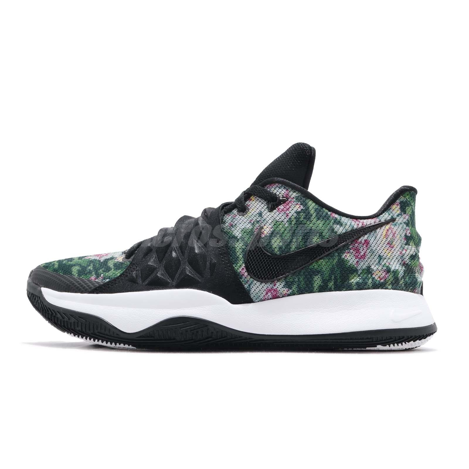 3bce04f22f5e Nike Kyrie Low EP Irving Floral Black Men Basketball Shoes Sneakers AO8980- 002