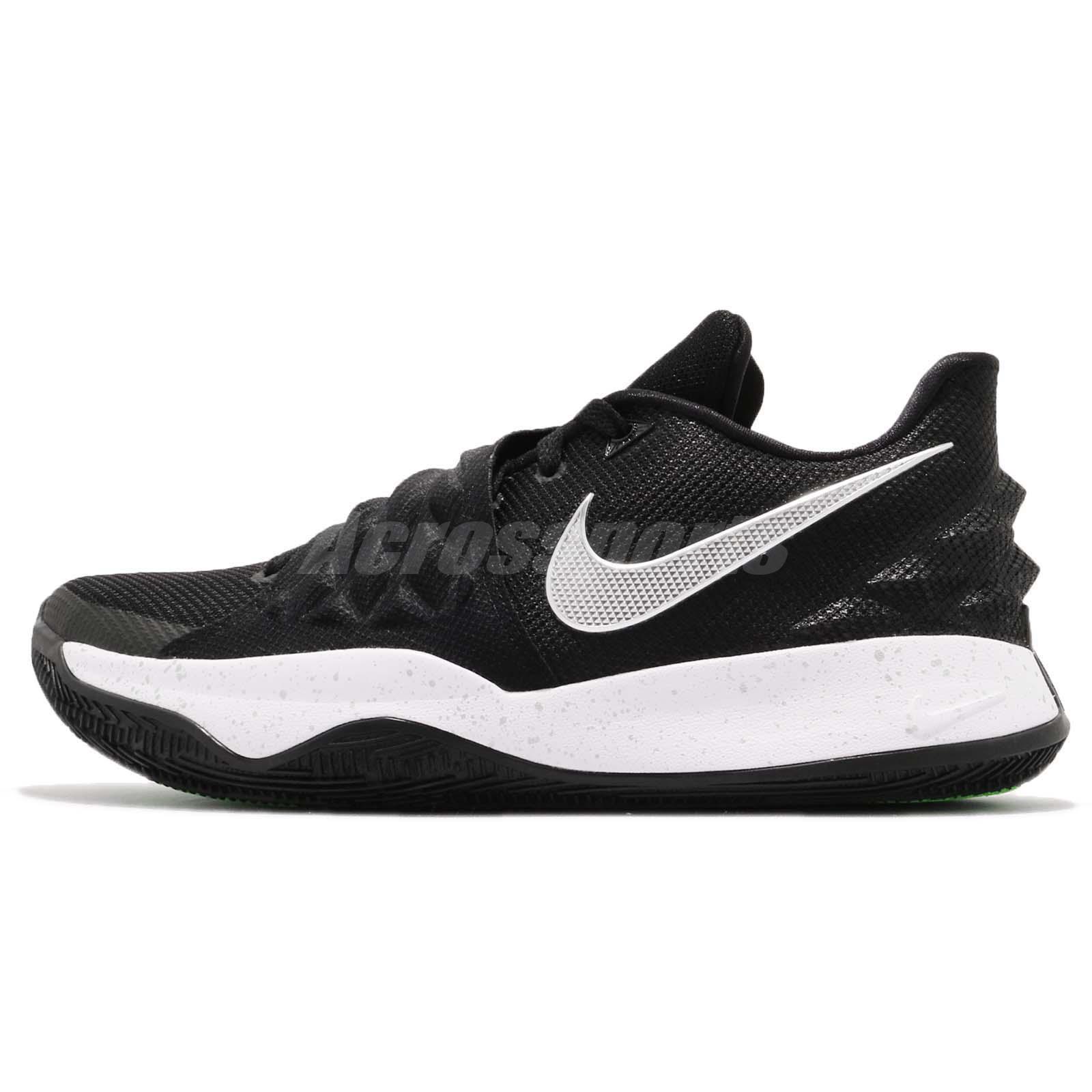 Nike Kyrie Low 1 EP Irving Metallic Silver Black Men Basketball Shoe AO8980- 003 293955f35