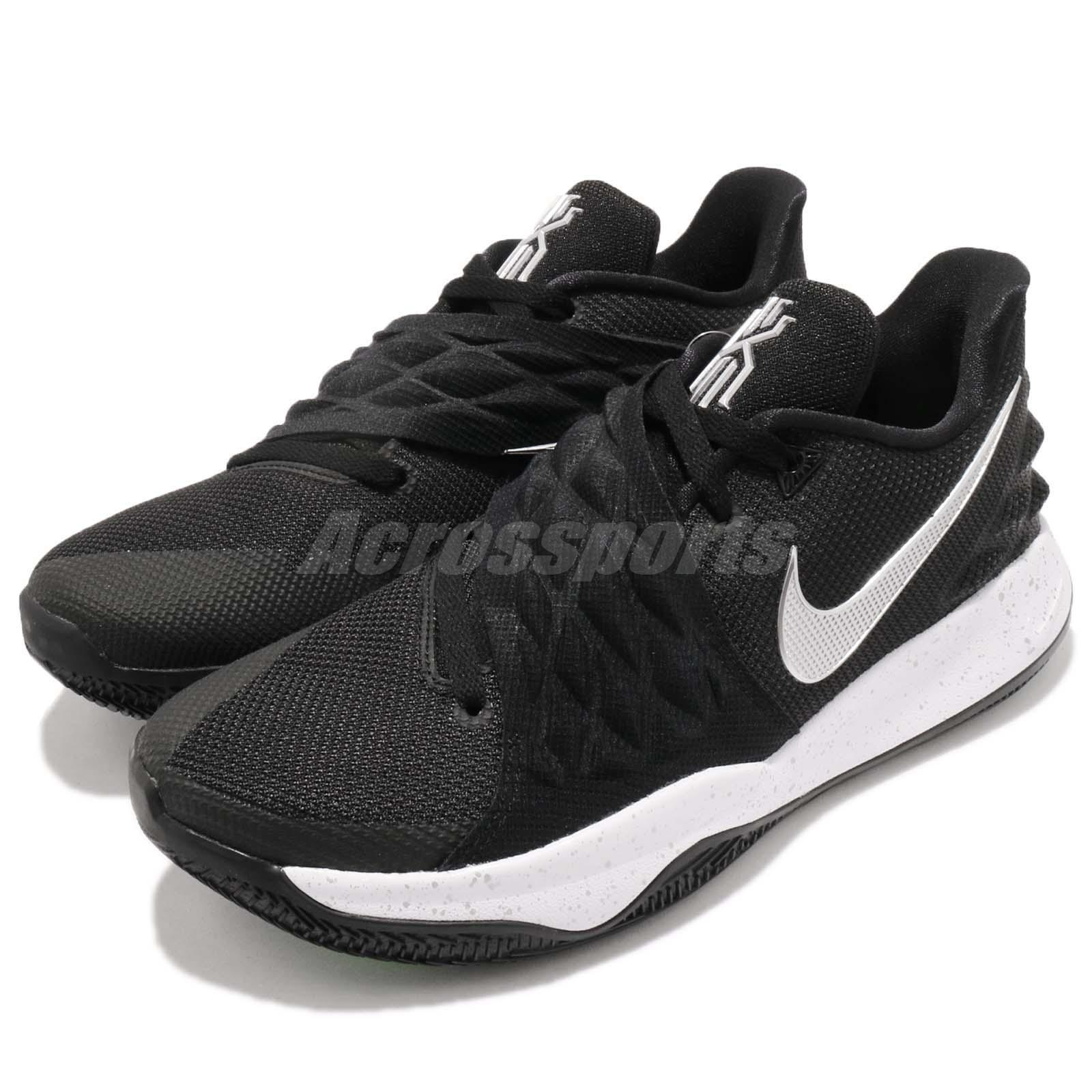 free shipping 0b5c8 75af9 Details about Nike Kyrie Low 1 EP Irving Metallic Silver Black Men  Basketball Shoe AO8980-003
