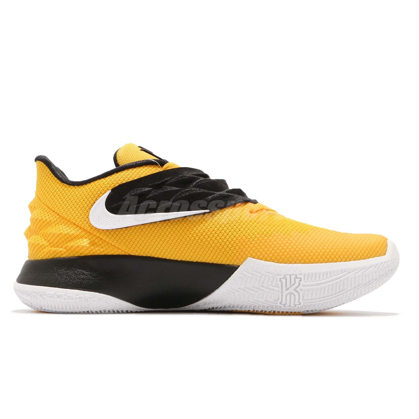 1bb6a1ead9cc Details about Nike Kyrie 1 Low EP Irving Yellow Black Men Basketball Shoes  Sneakers AO8980-700