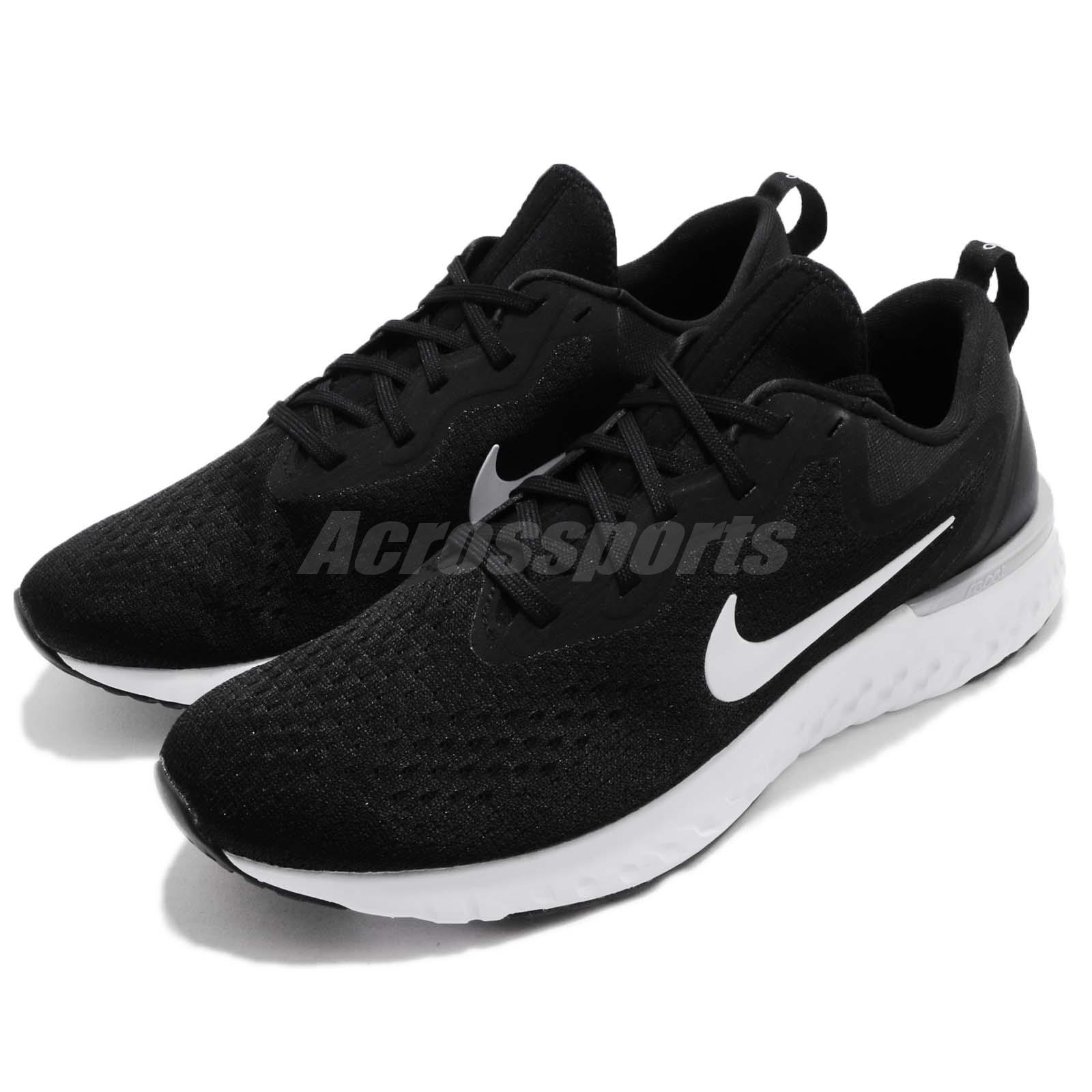 c7c94e203b40 Details about Nike Odyssey React Black White Men Running Shoes Sneakers  AO9819-001