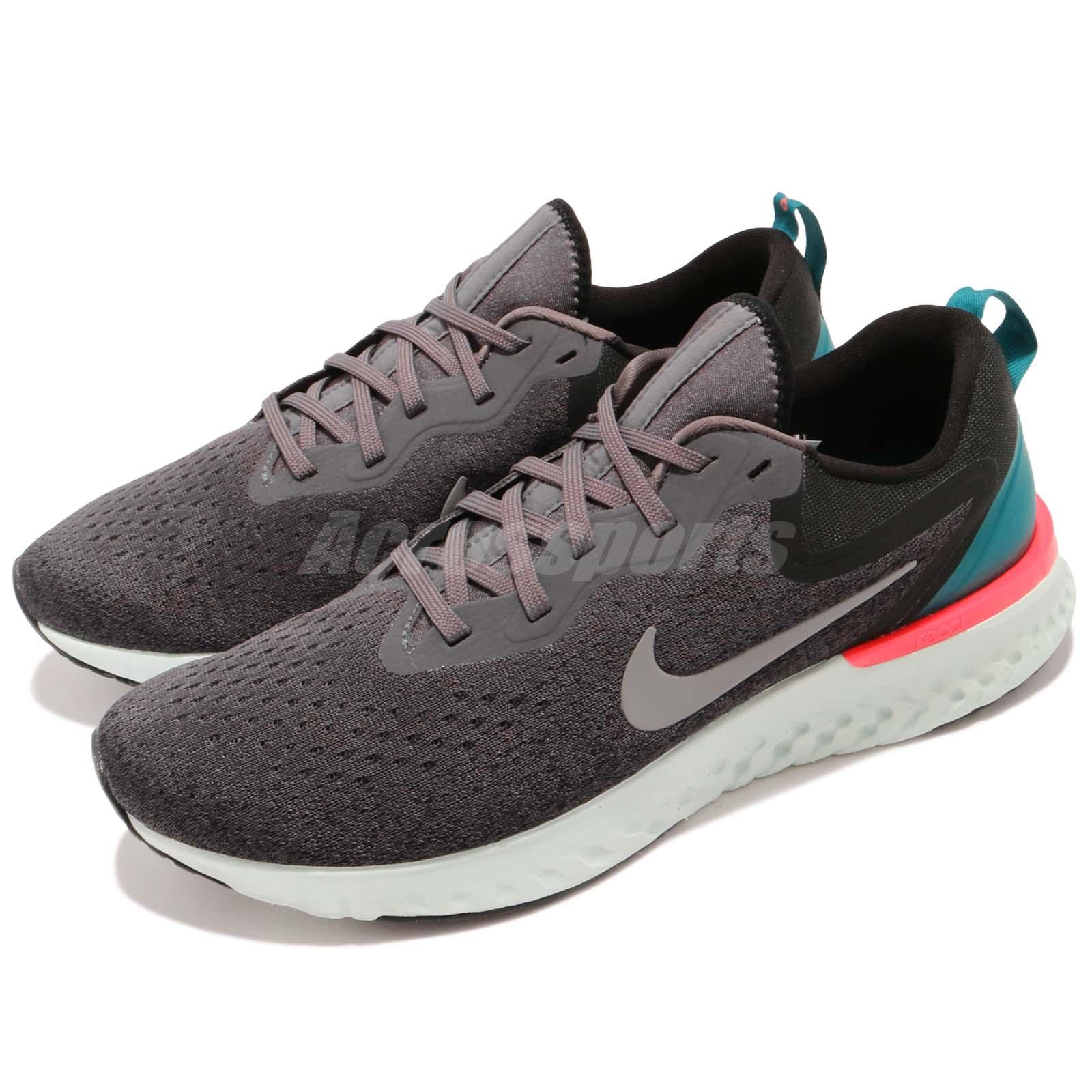 19cdfbe64d5b2 Details about Nike Odyssey React Thunder Grey Green Pink Men Running Shoes  Sneakers AO9819-007