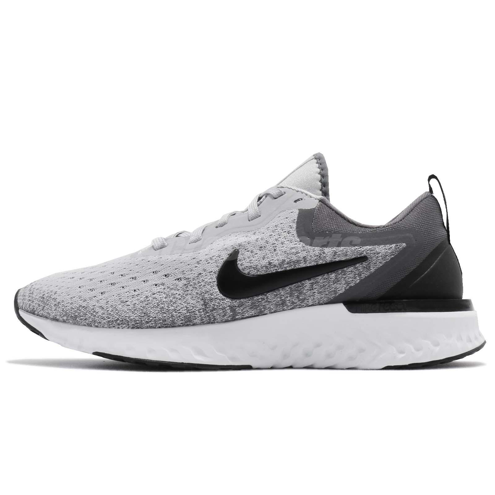 e241c6692bc Nike Wmns Odyssey React Wolf Grey Black Women Running Shoes Sneakers  AO9820-003