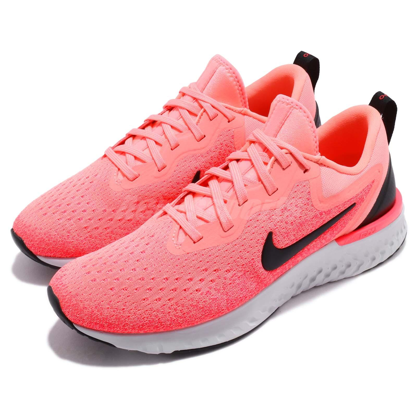6e247a74b06f Details about Nike Wmns Odyssey React Light Atomic Pink Black Women Running  Shoes AO9820-602