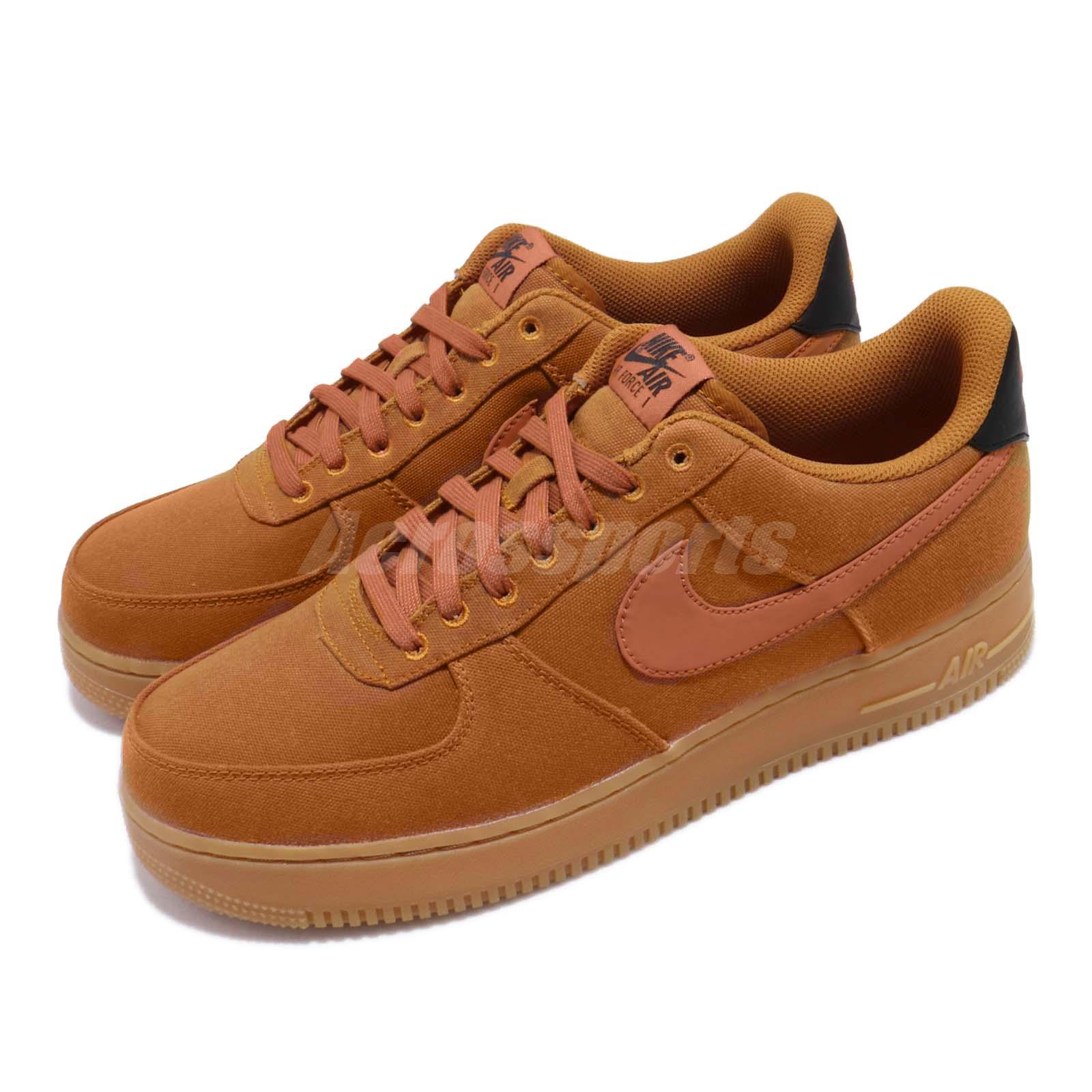 Details about Nike Air Force 1 07 LV8 Style Monarch Orange Brown Gum Mens Shoes AF1 AQ0117 800