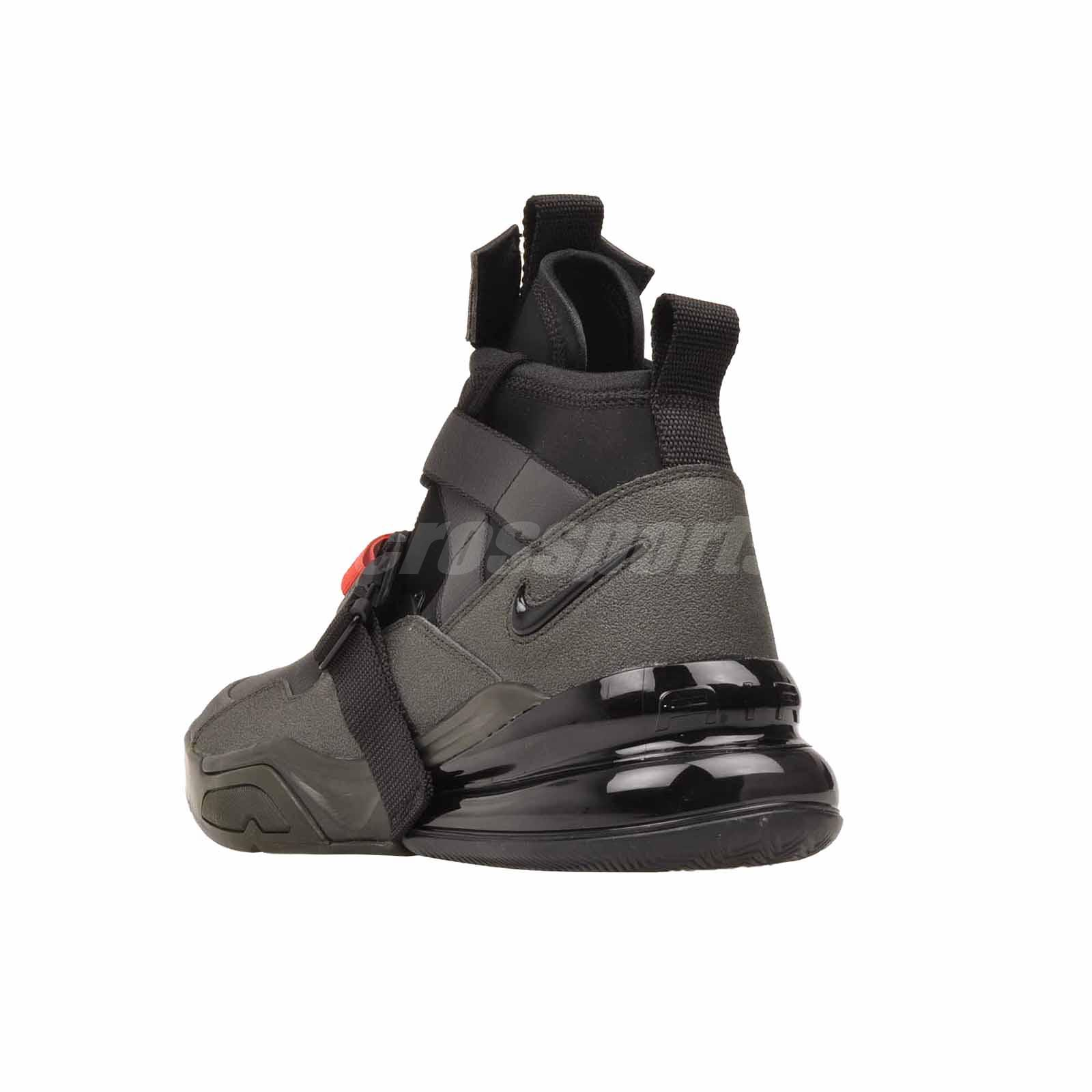 best loved ba3bf cdb83 Details about Nike Air Force 270 Utility Outdoors Mens Shoes Sequoia Black  AQ0572-300