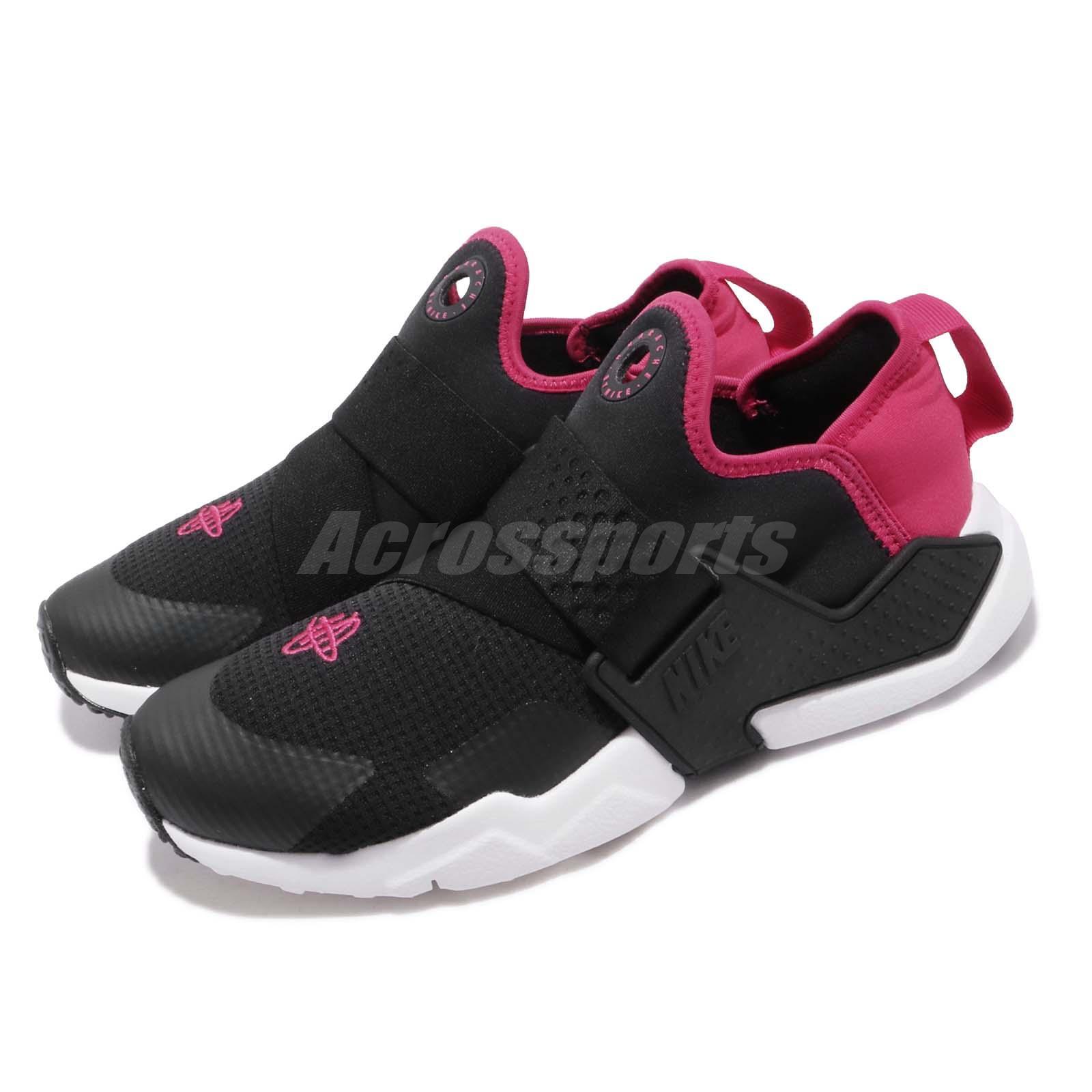 e090d5f7dac2e Details about Nike Huarache Extreme GS Black Pink White Kid Youth Women  Slip On AQ0575-011