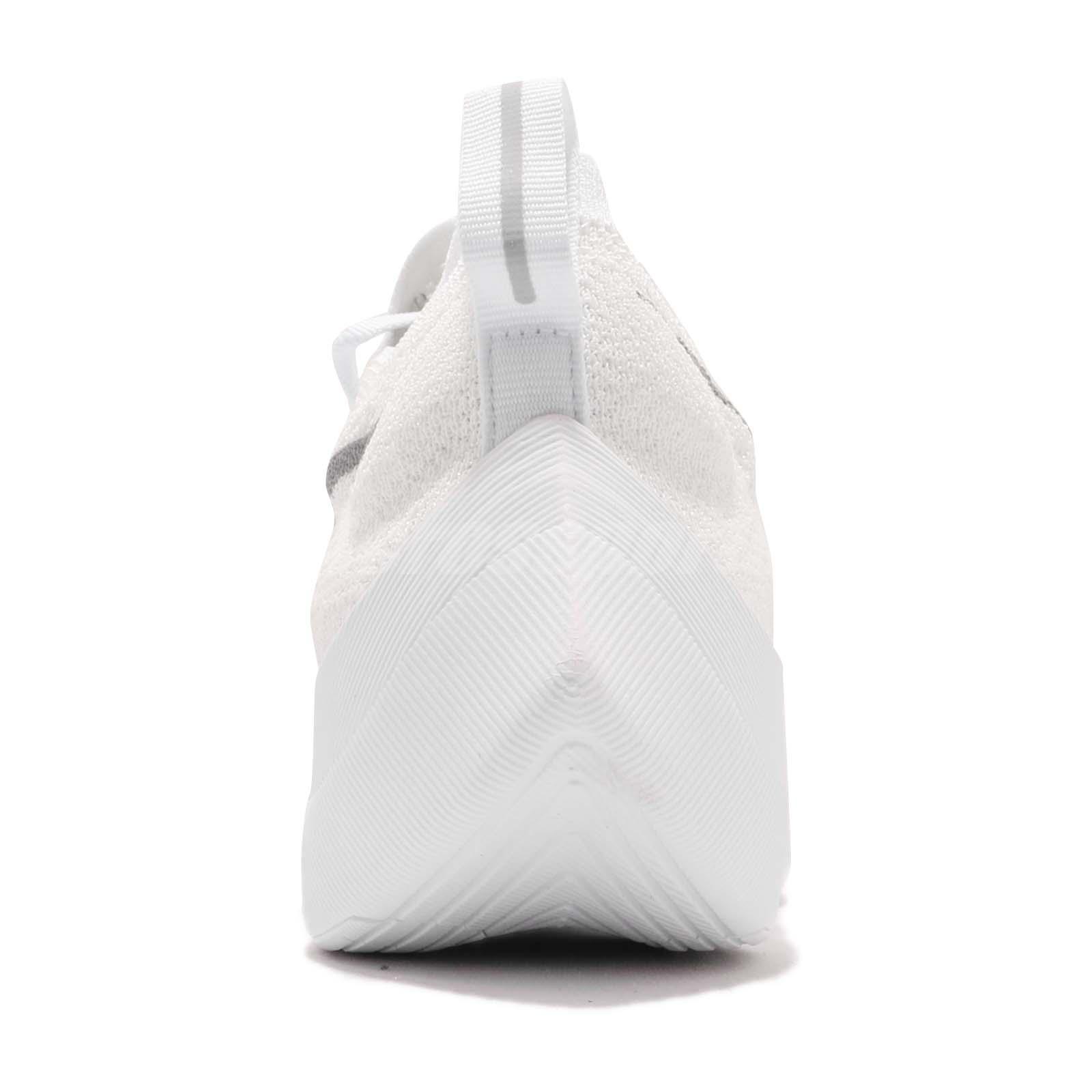 4b7865a346b Nike REACT Vapor Street Flyknit Big Swoosh White Grey Running Shoes ...