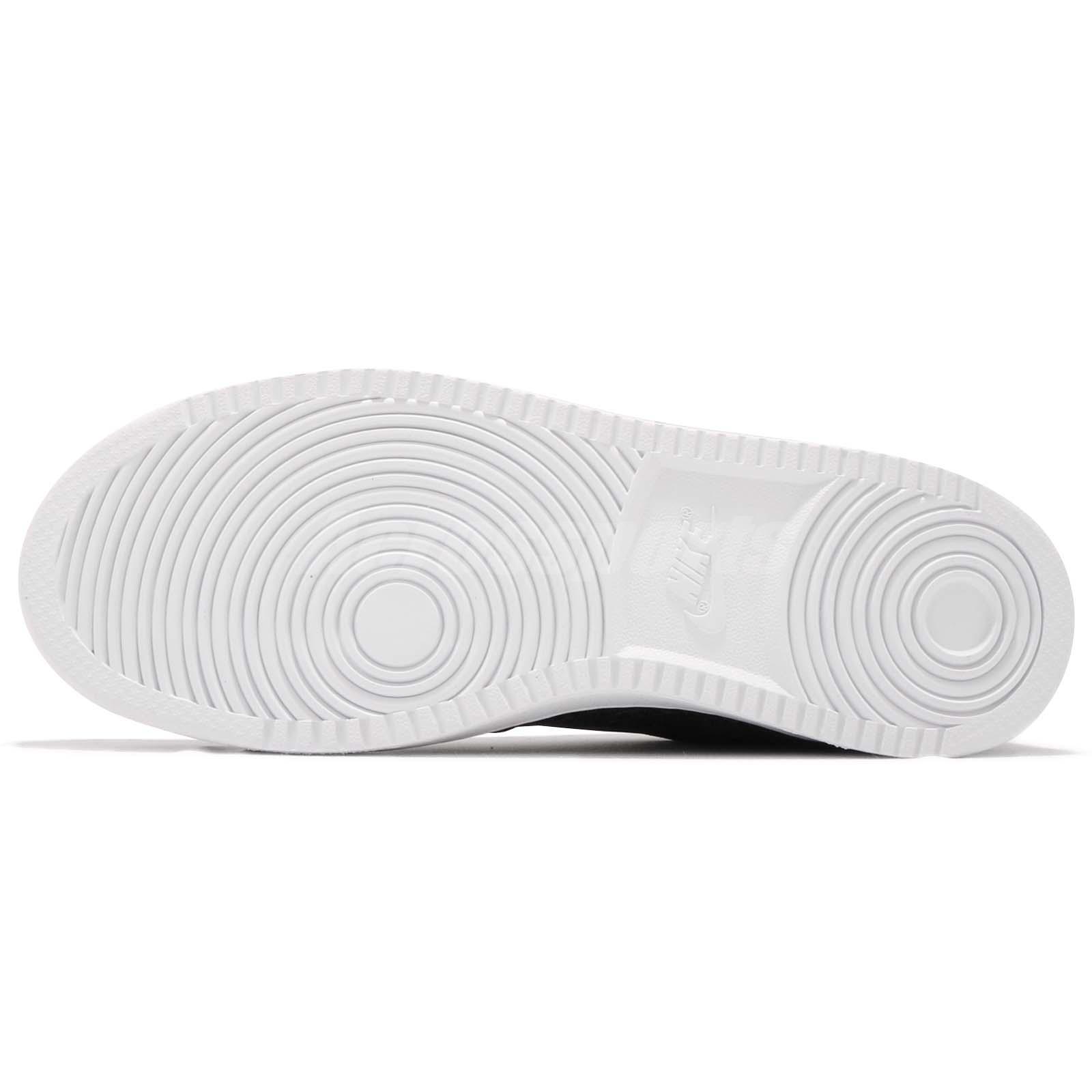 low priced 756fe c0f9c Nike Ebernon Low PREM Premium Black White Men Casual Shoes Sneakers ...