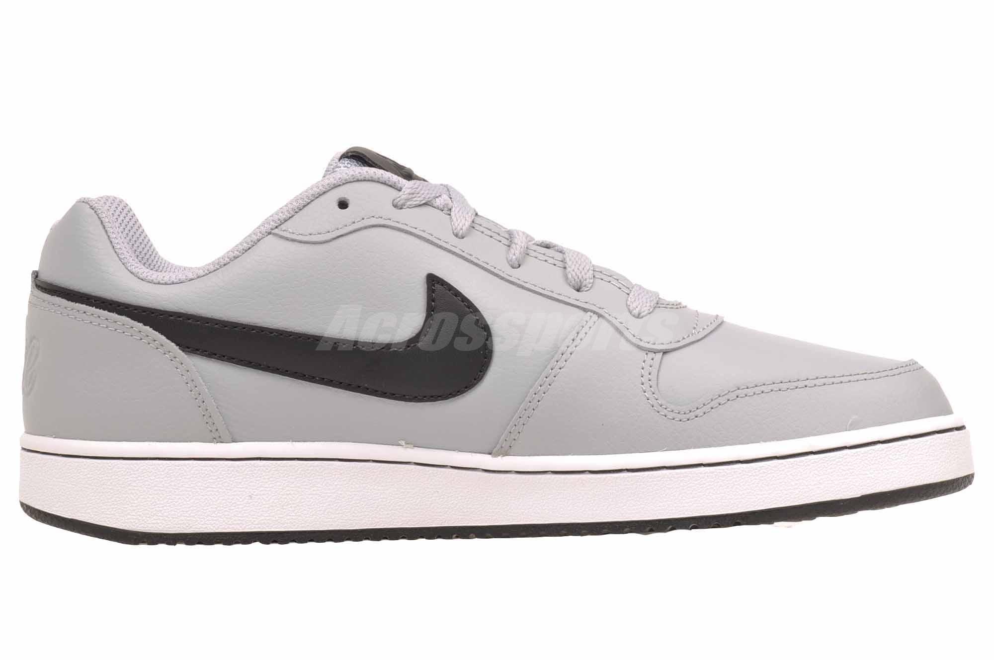 Detalles de Nike Ebernon bajo informal Para hombres Zapatos para Baloncesto Retro Gris AQ1775 005 ver título original