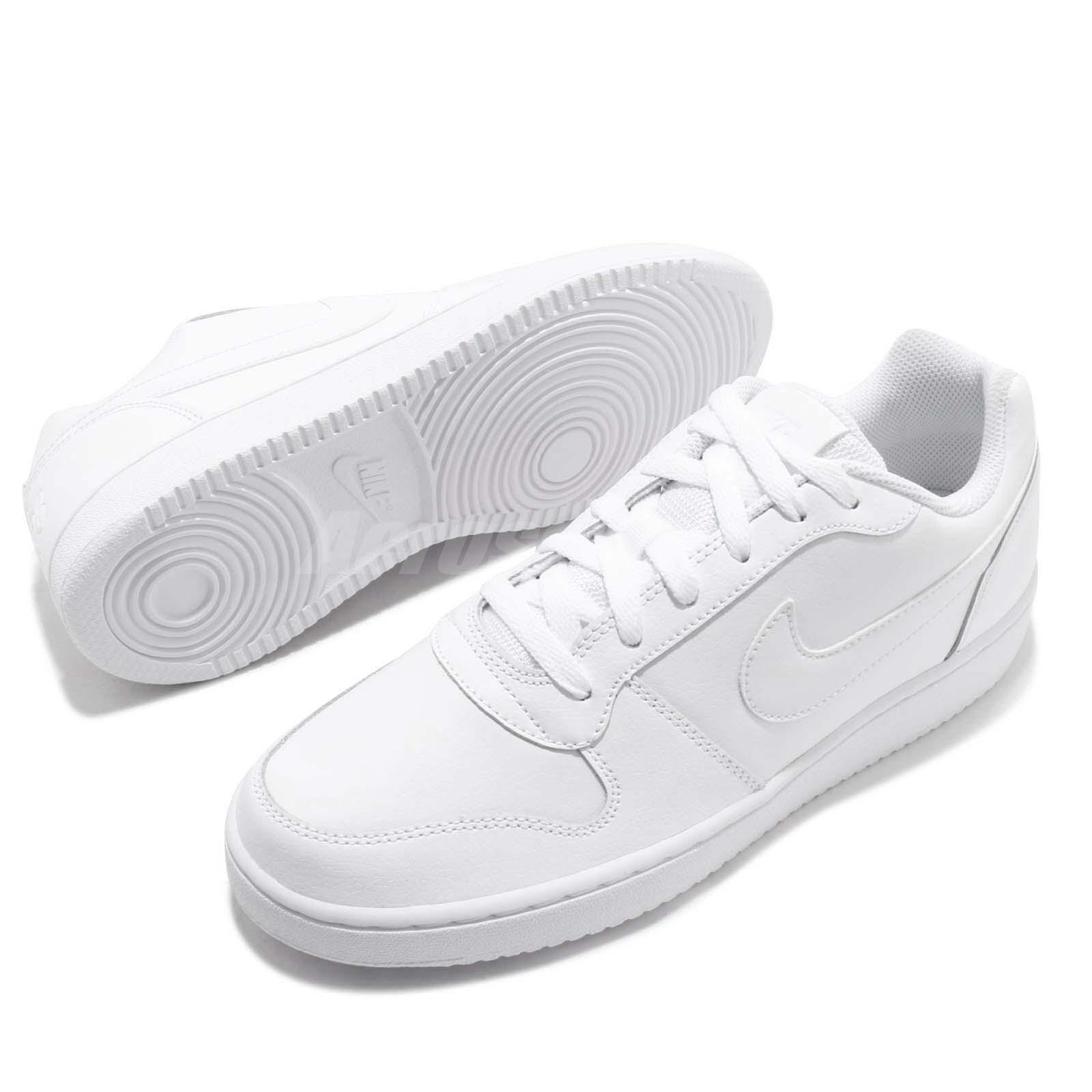 Nike Ebernon Low Triple White Men