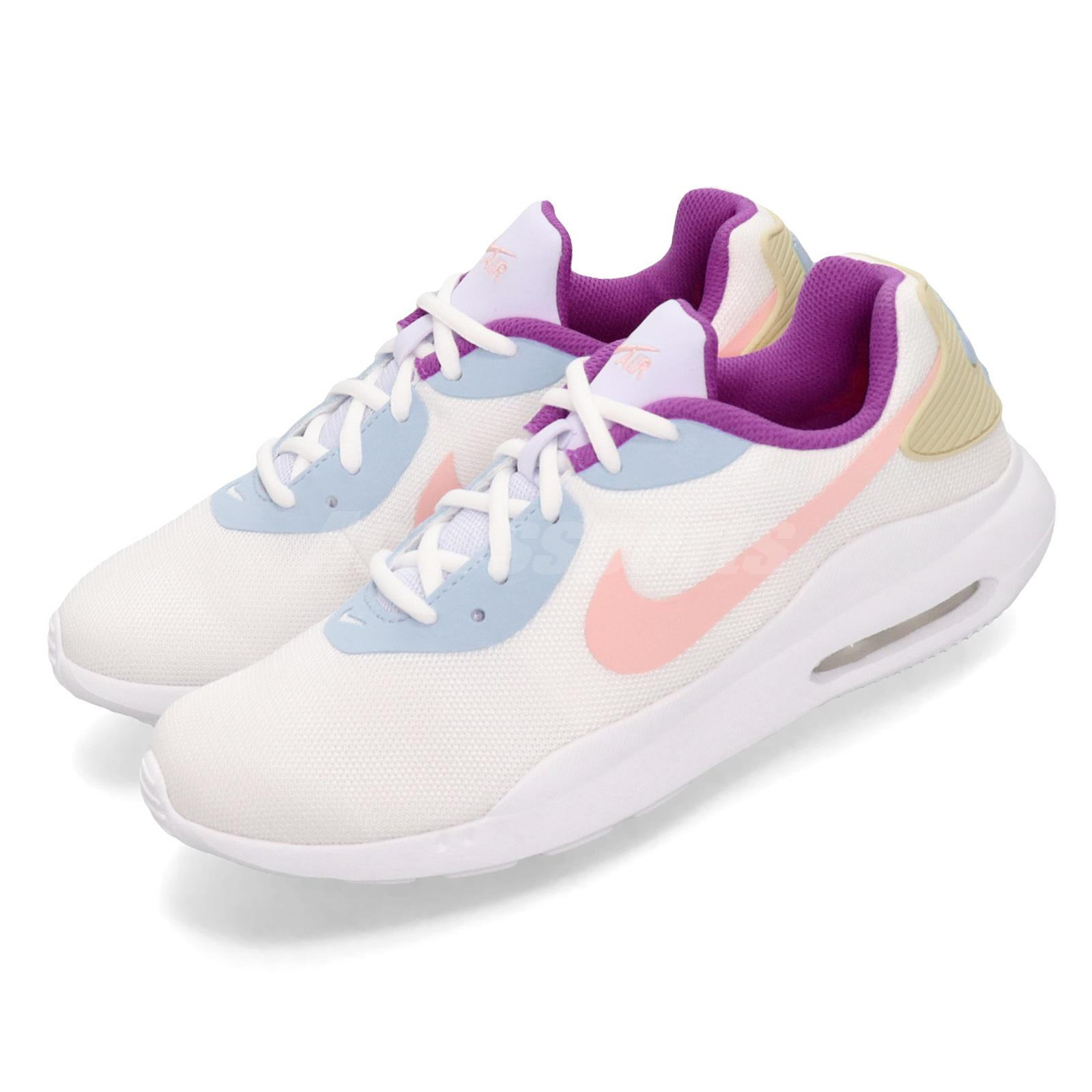 Details about Nike Wmns Air Max OKETO White Bleached Coral Purple Women Shoes AQ2231 104