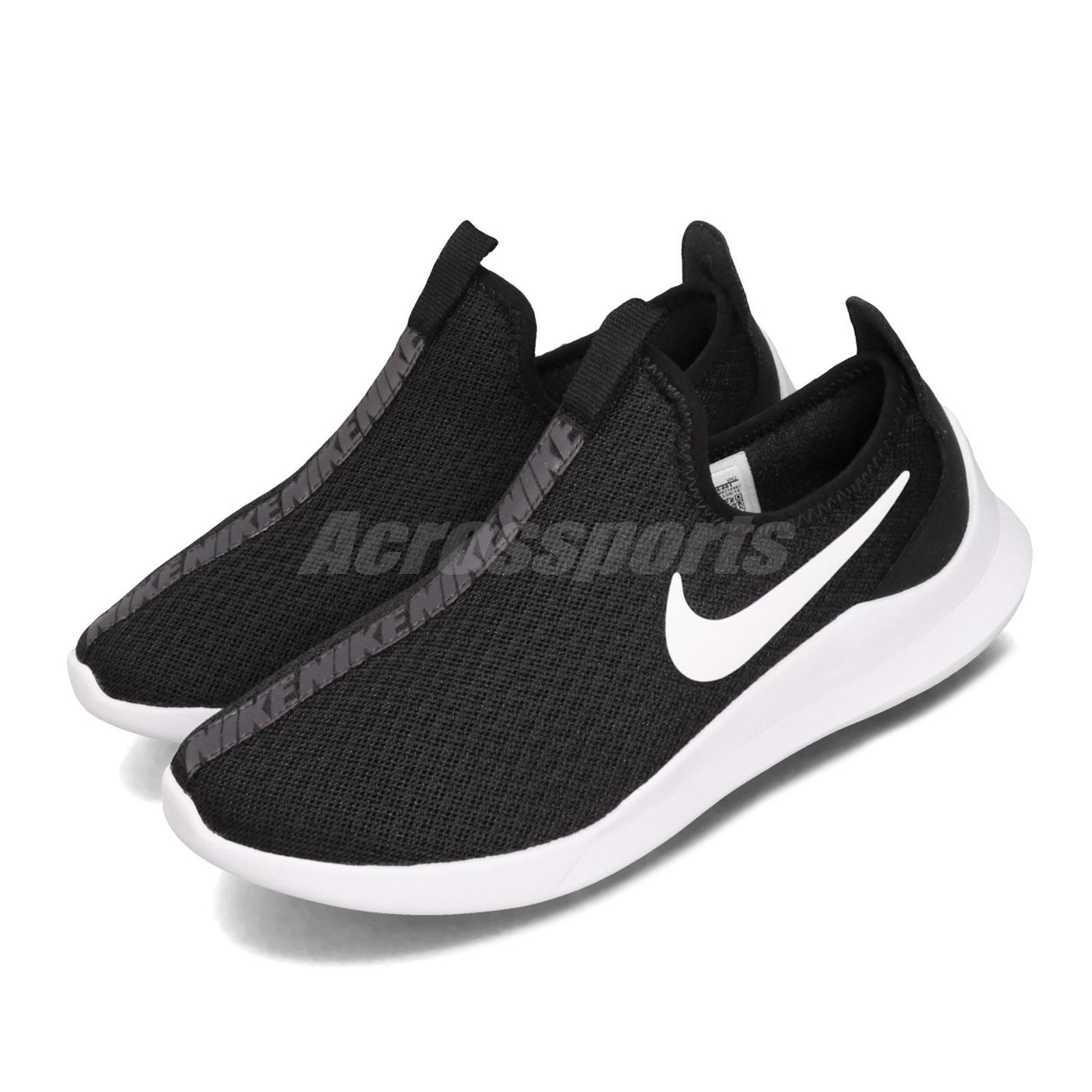 Detalles acerca de Nike Wmns Viale SLP resbalón en Negro Blanco para Mujer  Estilo De Vida Zapatos Sneaker AQ2234-001- mostrar título original