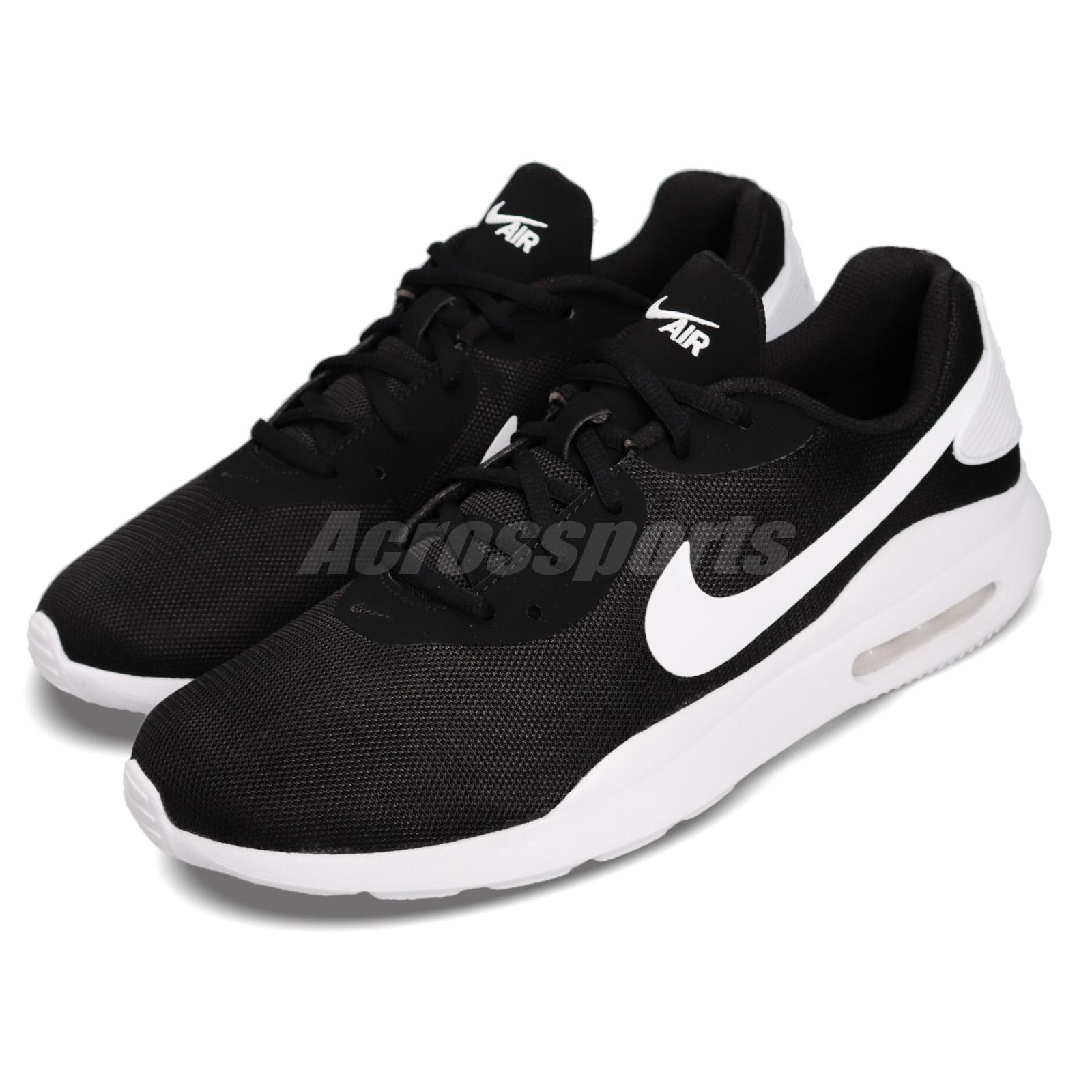brand new 9ecc7 01741 Details about Nike Air Max Oketo Black White Men Running Casual Shoes  Sneakers AQ2235-002