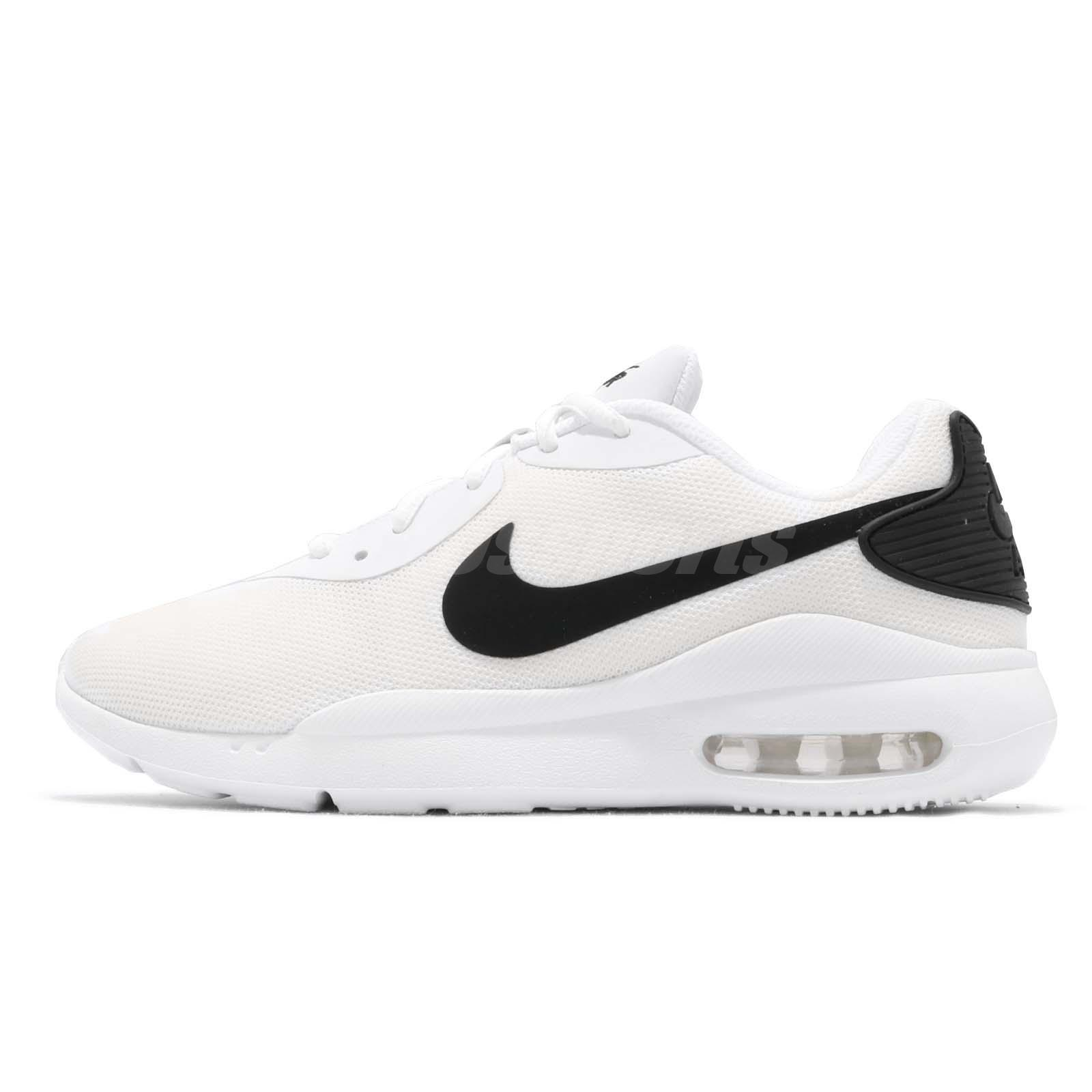 822f89b2 Details about Nike Air Max Oketo White Black Men Running Casual Shoes  Sneakers AQ2235-100