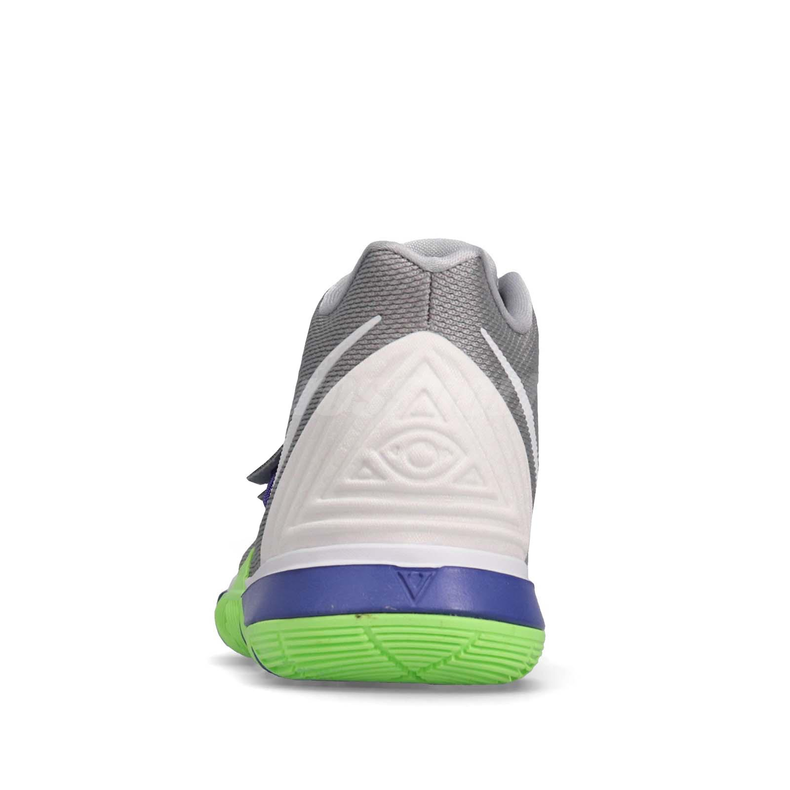 aa5c59226c0ba6 Nike Kyrie 5 GS V Irving Wolf Grey Lime Kid Youth Women Shoes ...