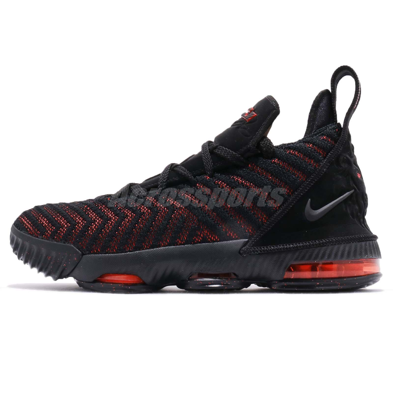 906c9317f2c Nike Lebron XVI GS 16 James LBJ Fresh Bred KID Women Youth Shoes AQ2465-002