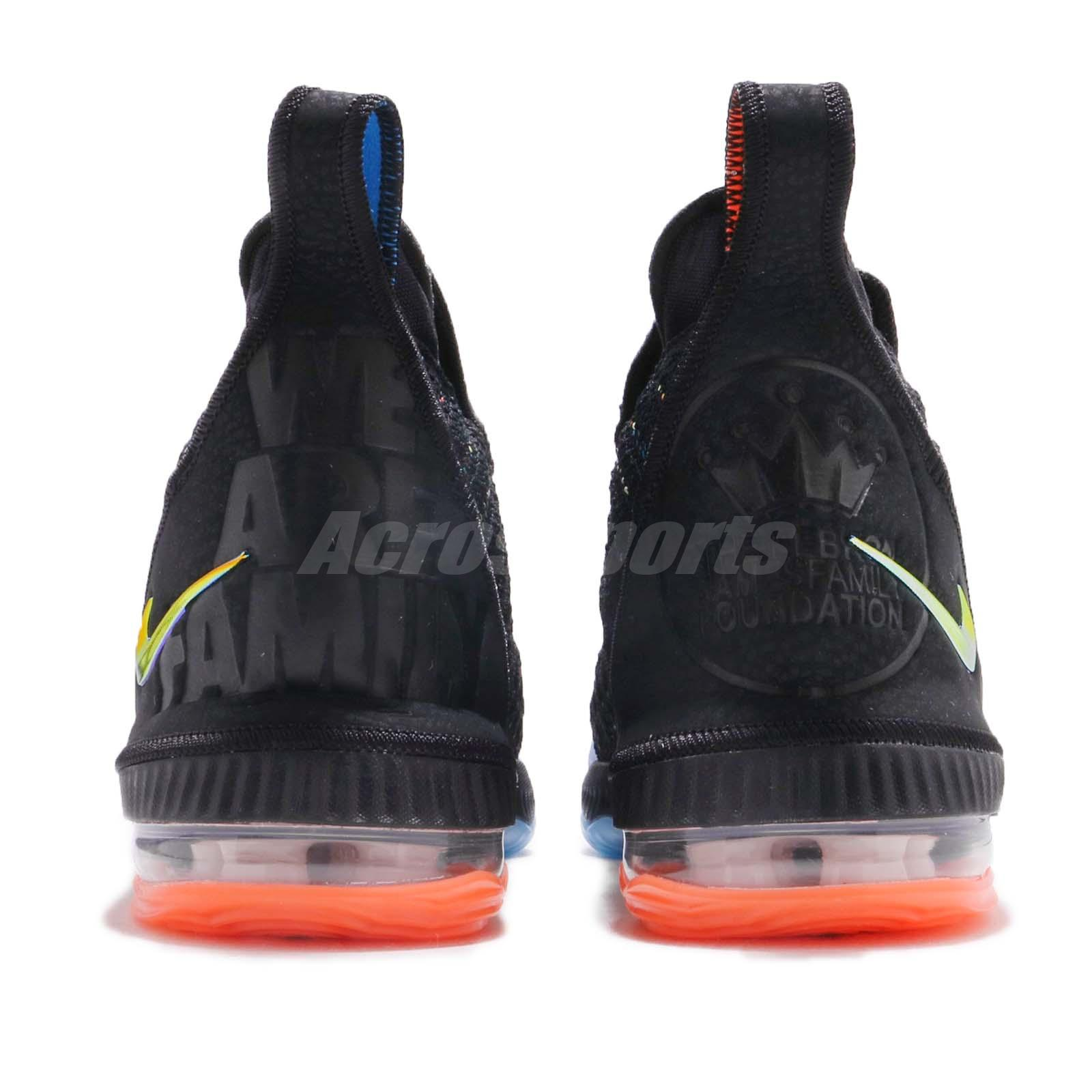 d64bcfe40c08 Nike LeBron XVI GS James 16 I Promise WE ARE FAMILY Women Kid Youth ...