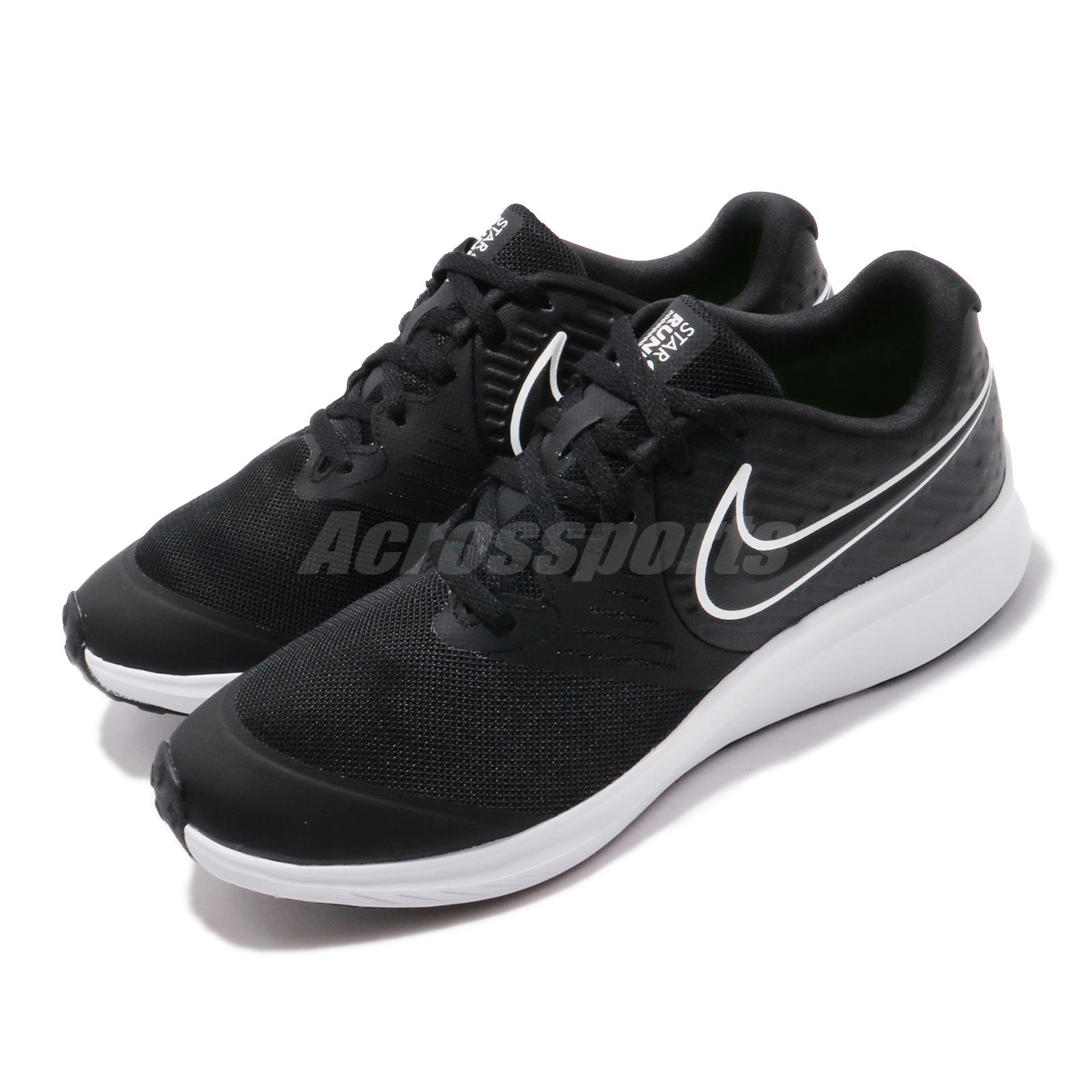 Marco Polo Gastos de envío Sinewi  Nike Star Runner 2 GS Black White Kid Women Running Shoes Sneakers AQ3542-001  | eBay