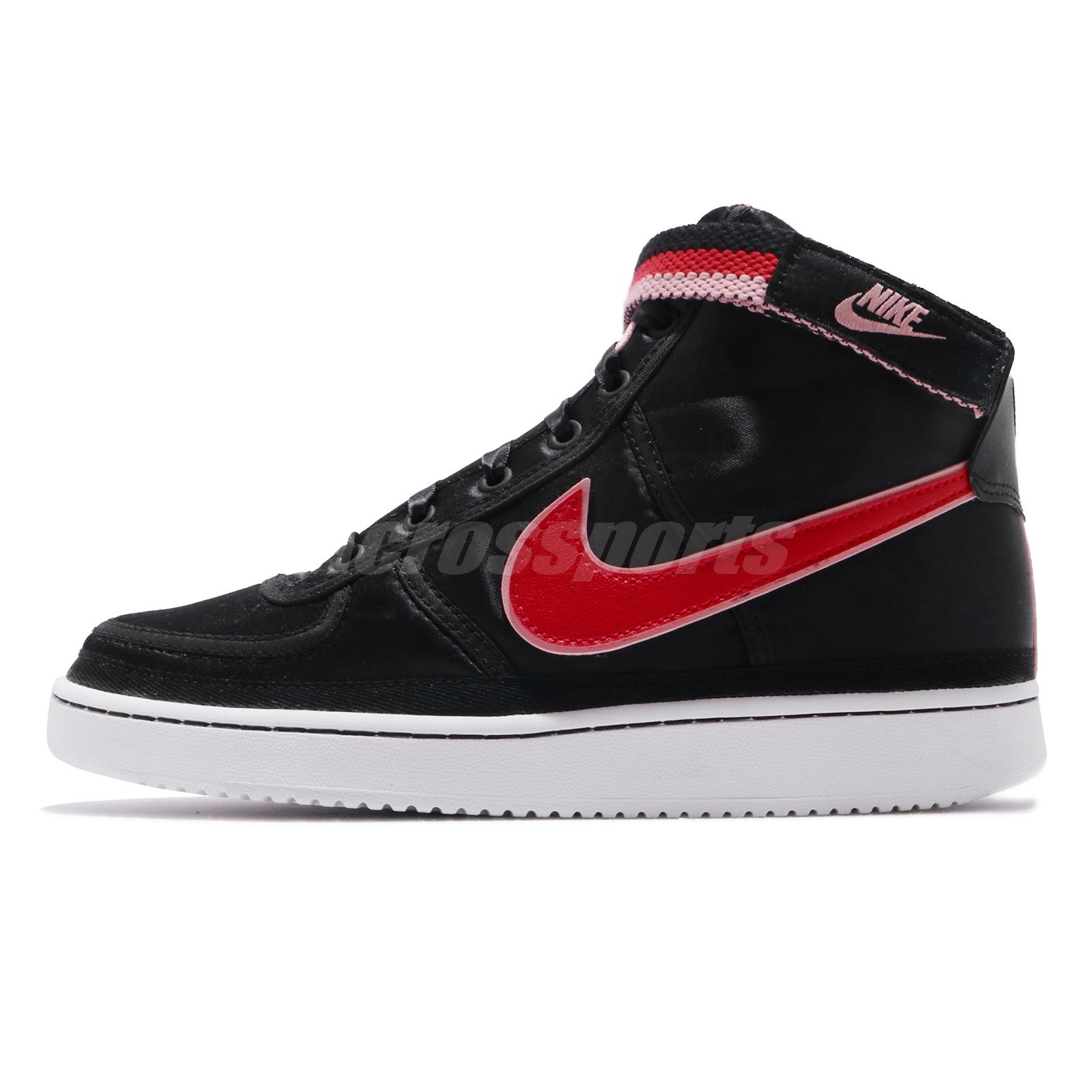 368f7ff4ee47 Details about Nike Vandal High Supreme QS (GS) Casual Kids Youth Womens Shoes  Black AQ3713-001
