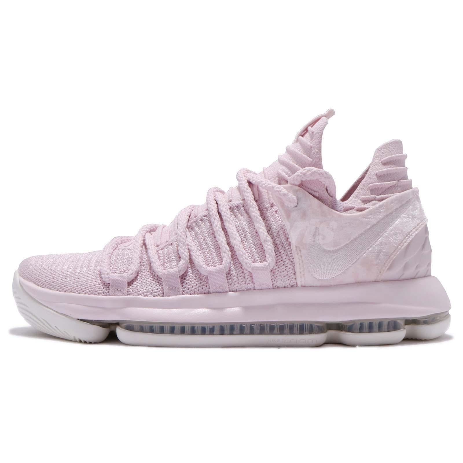 cheap for discount 4485f 822a1 canada nike zoom kd 10 ap ep x aunt pearl pink breast cancer kevin durant  aq4111