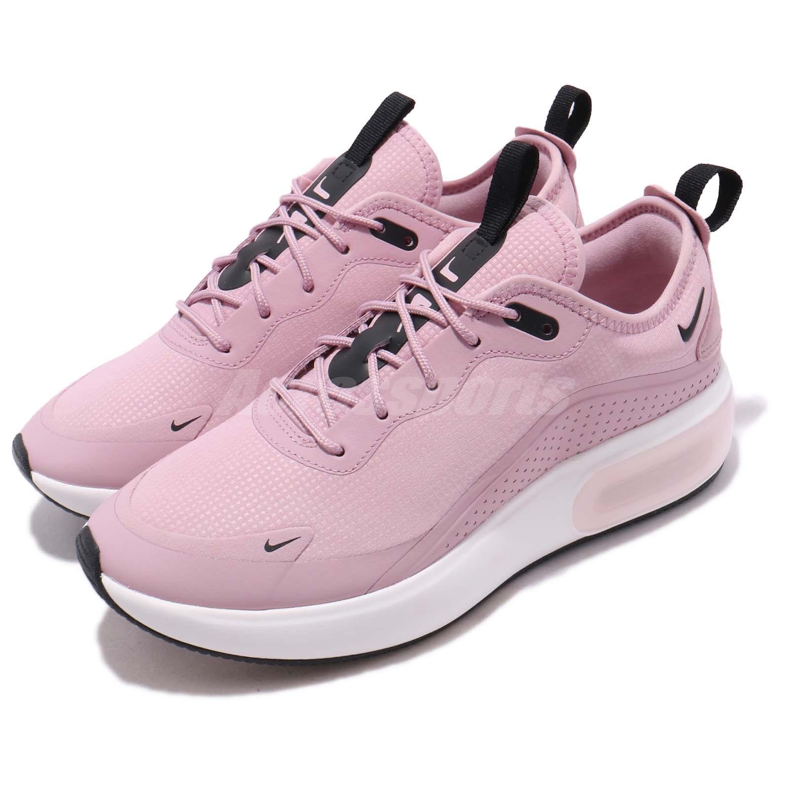 586763417c1 Details about Nike Wmns Air Max DIA Plum Chalk Black White Women Running  Shoes AQ4312-500