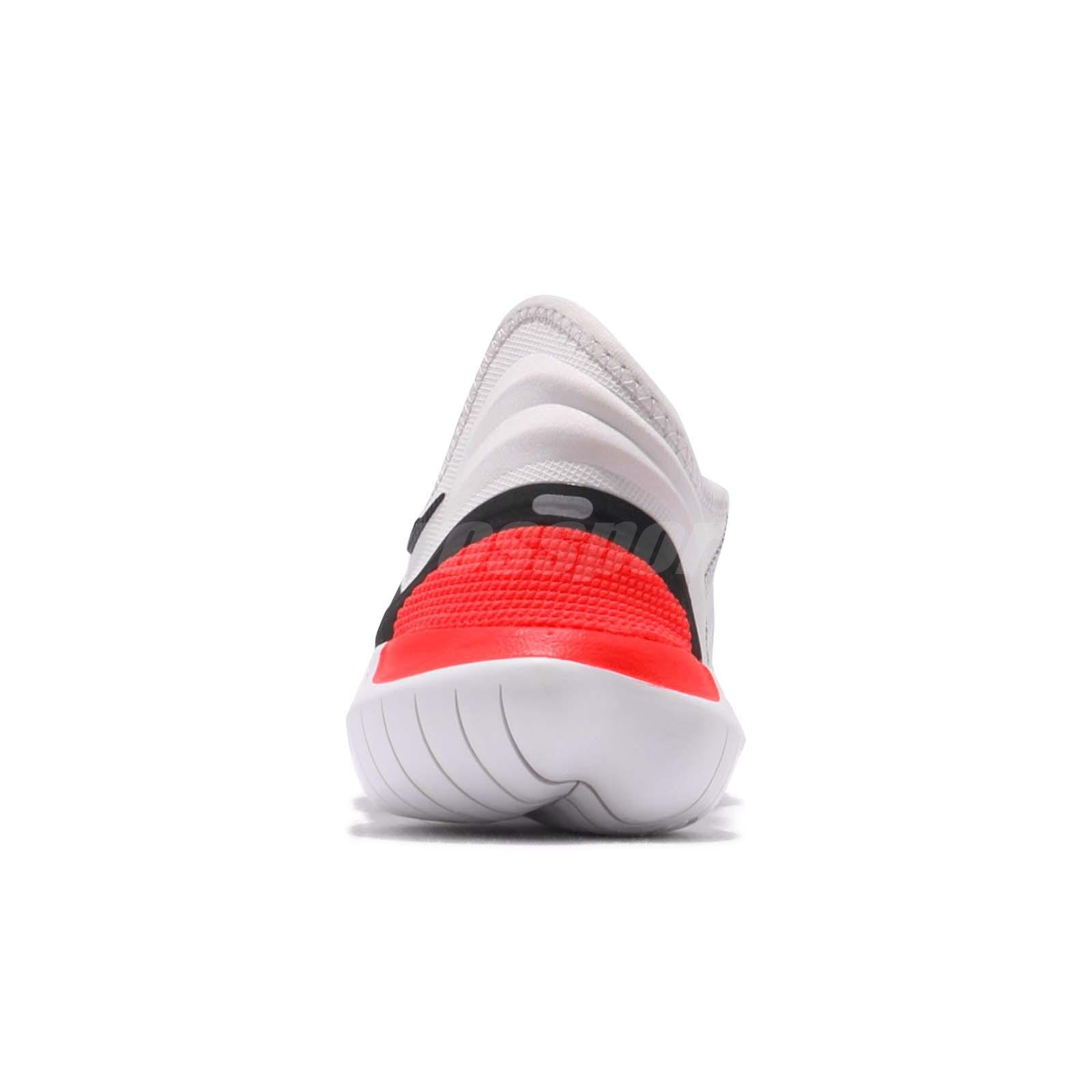 f207a9283539 Nike Free RN Flyknit 3.0 Grey Black White Red Men Running Shoes ...
