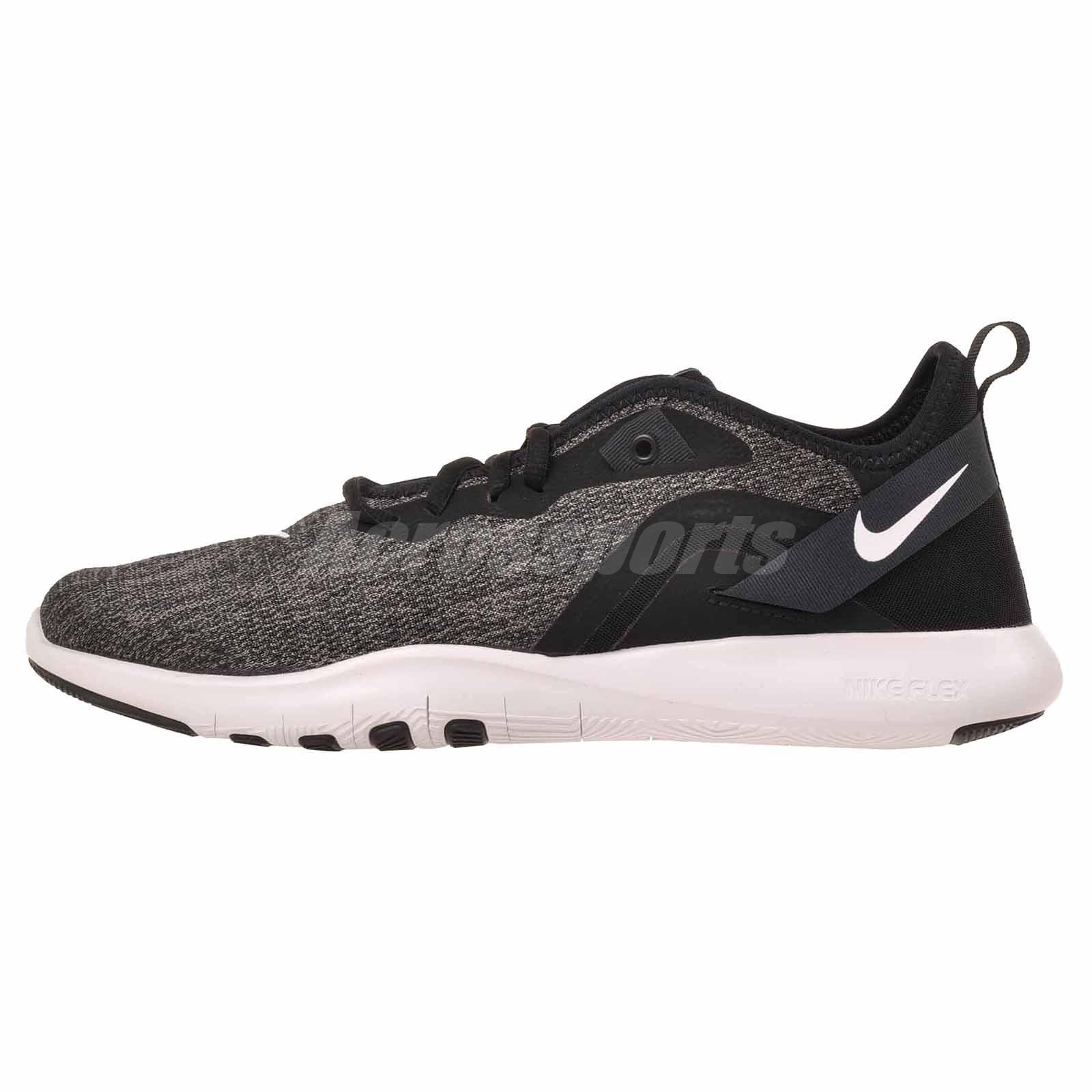 habla Alternativa entrega  Nike Wmns Flex Trainer 9 Cross Training Womens Shoes Black White AQ7491-002  | eBay