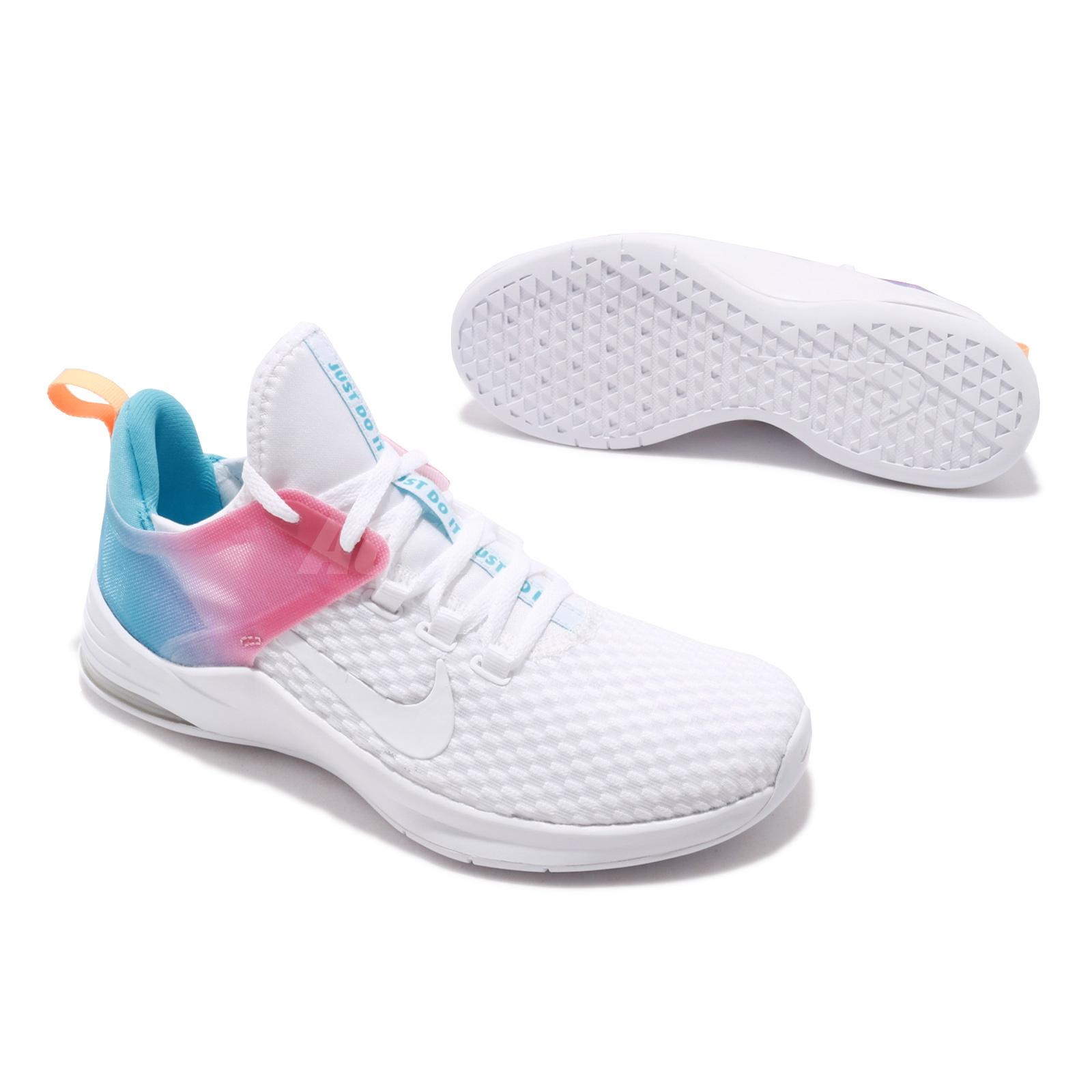 Details about Nike Wmns Air Max Bella TR 2 White Blue Fury Pink Women Training Shoe AQ7492 102