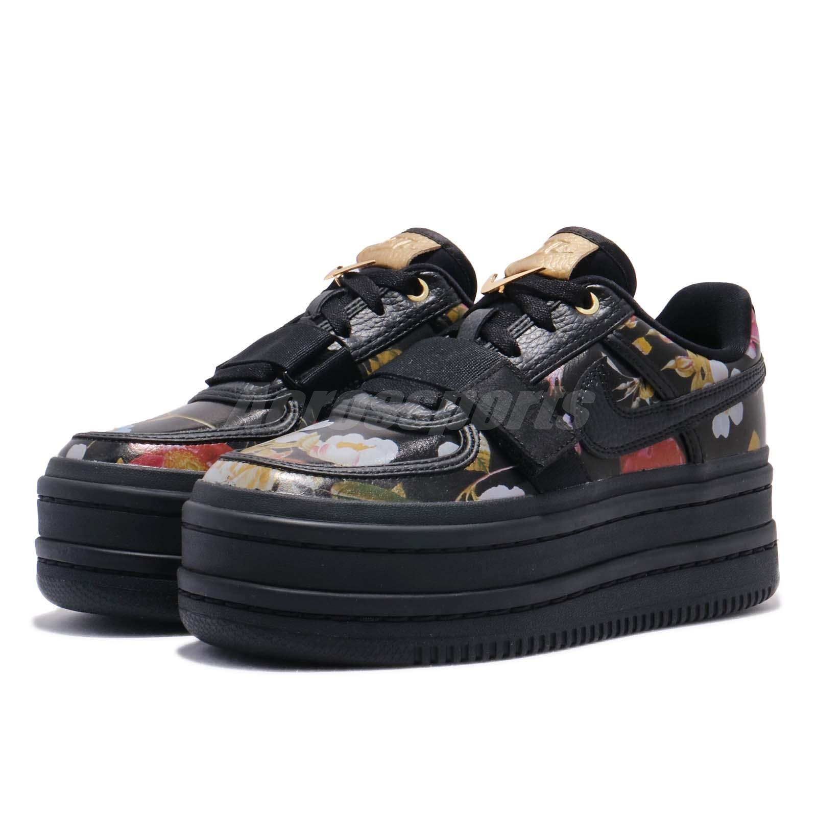 41aac16d276dbe Nike Wmns Vandal 2K LX Black Floral Platform Womens Casual Shoes ...