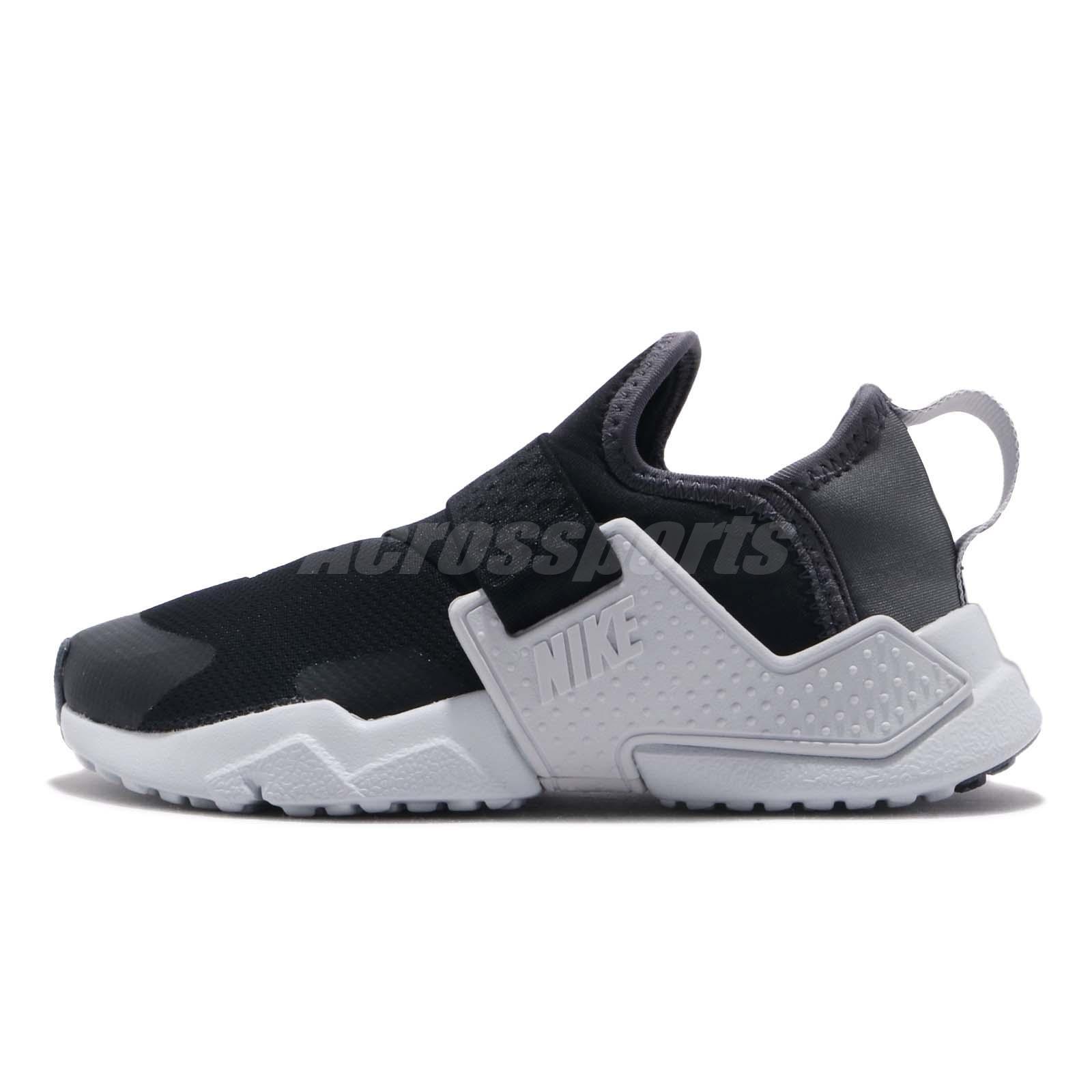 quality design f08bd 0ad2c Nike Huarache Extreme SE PS Black Silver Grey Kid Preschool Shoes AQ7937-002