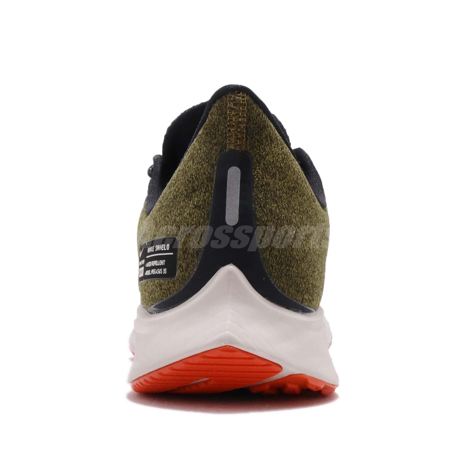8668be0ebfa5 Nike Air Zoom Pegasus 35 Shield GS Olive Flak Black Kid Women ...