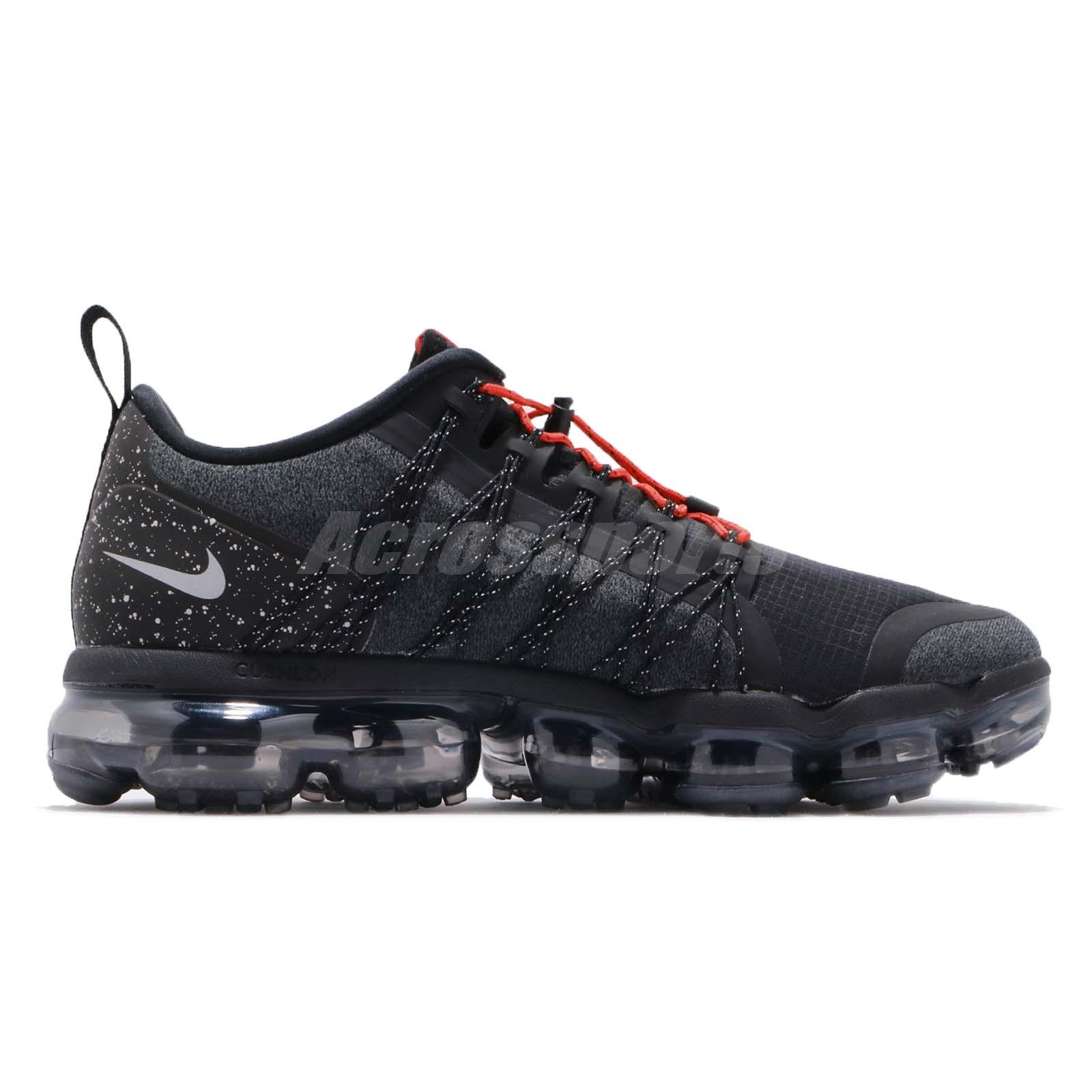 3c925506c98 Nike Air Vapormax Run Utility Black Reflect Silver Mens Running ...