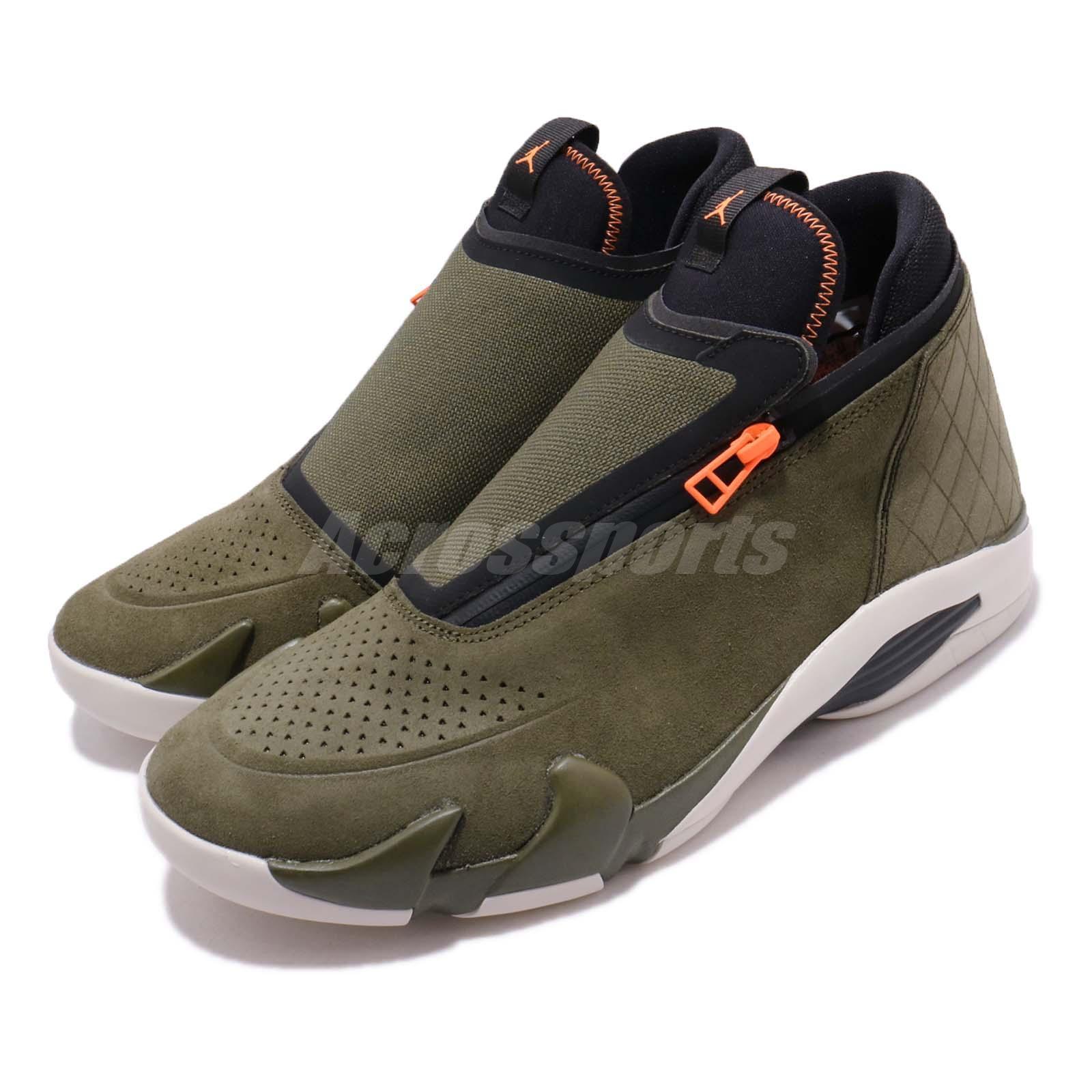 Nike Jordan Jumpman Z Olive Canvas Men