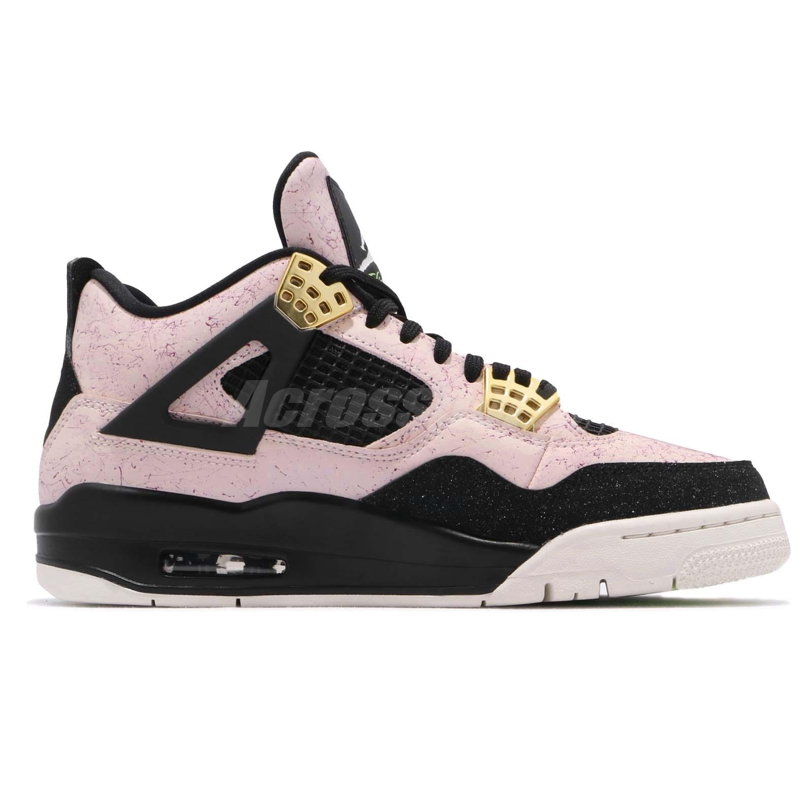 f7696447faf349 Nike Wmns Air Jordan 4 Retro IV AJ4 Splatter Silt Red Women Shoes ...