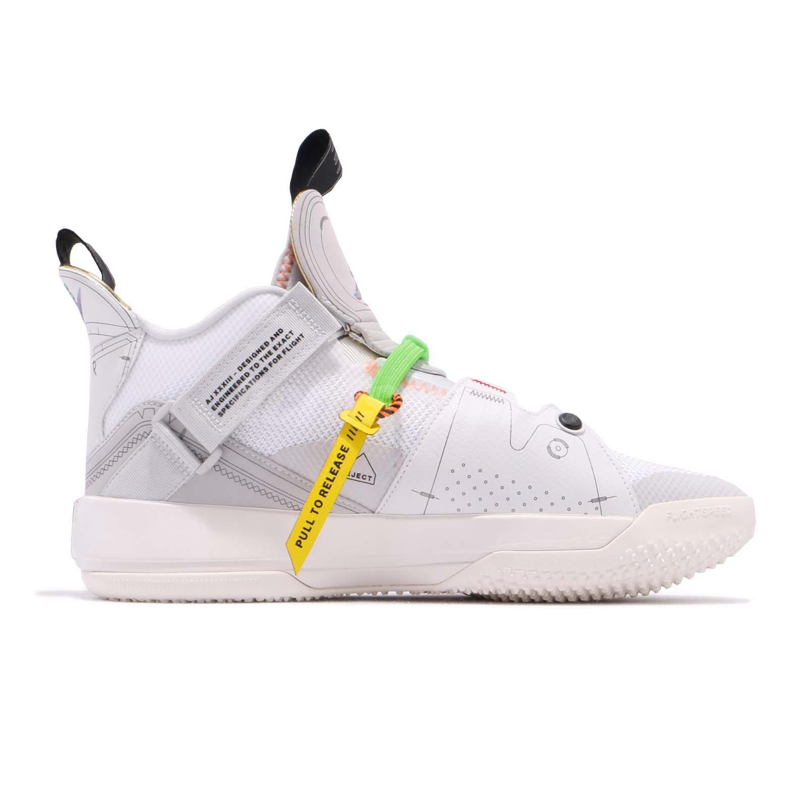 53eaf18b20701f Nike Air Jordan XXXIII GS 33 AJ33 Vast Grey Kid Youth Women Shoes ...