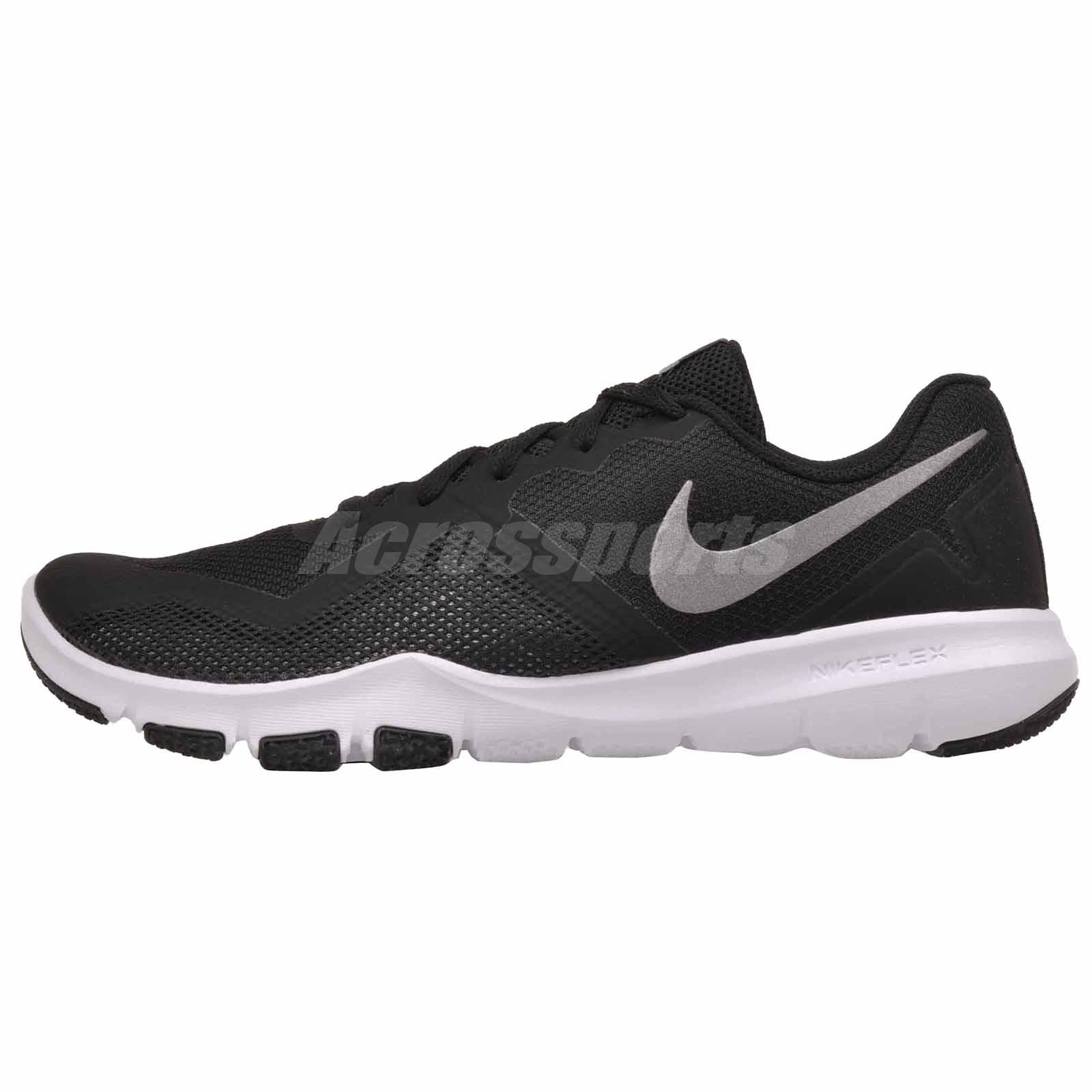 617a152aa609 Nike Flex Control II 4E Cross Training Mens Wide Shoes Black Grey AQ9712-010
