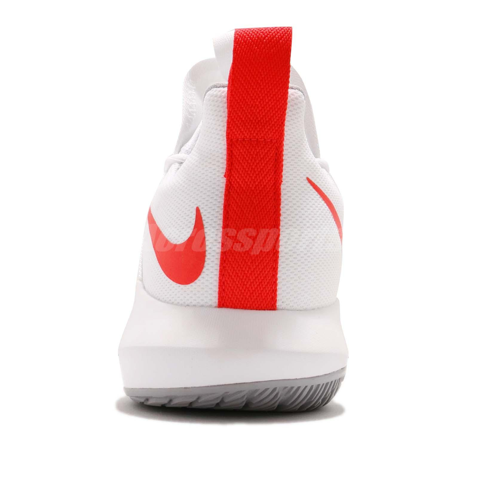 880710358fd1 Nike Zoom Shift 2 EP II Bright Crimson White Men Basketball Shoes ...