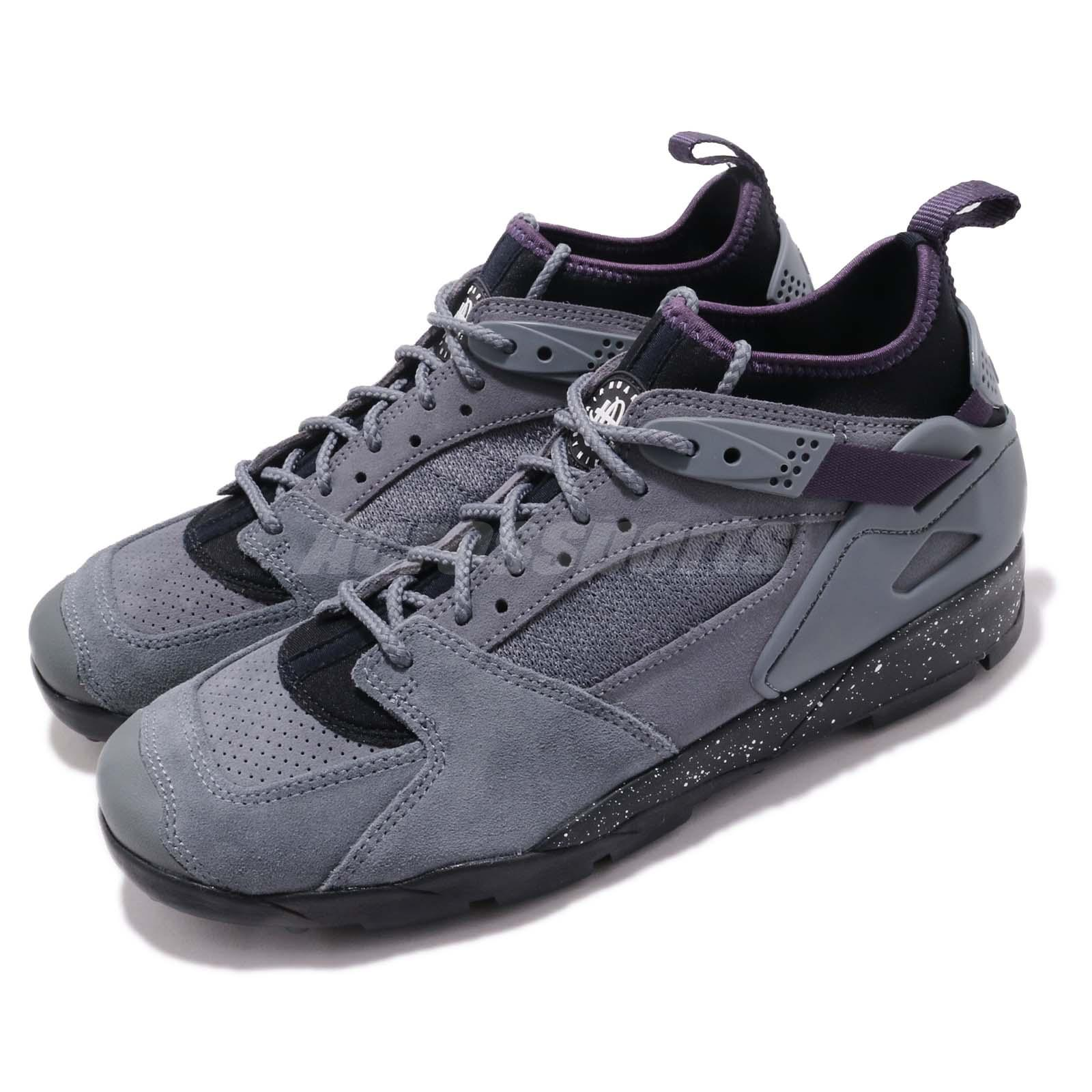 Nike ACG Air Revaderchi Grey Black Purple Men Outdoors Trail Shoes ... 6768dce03