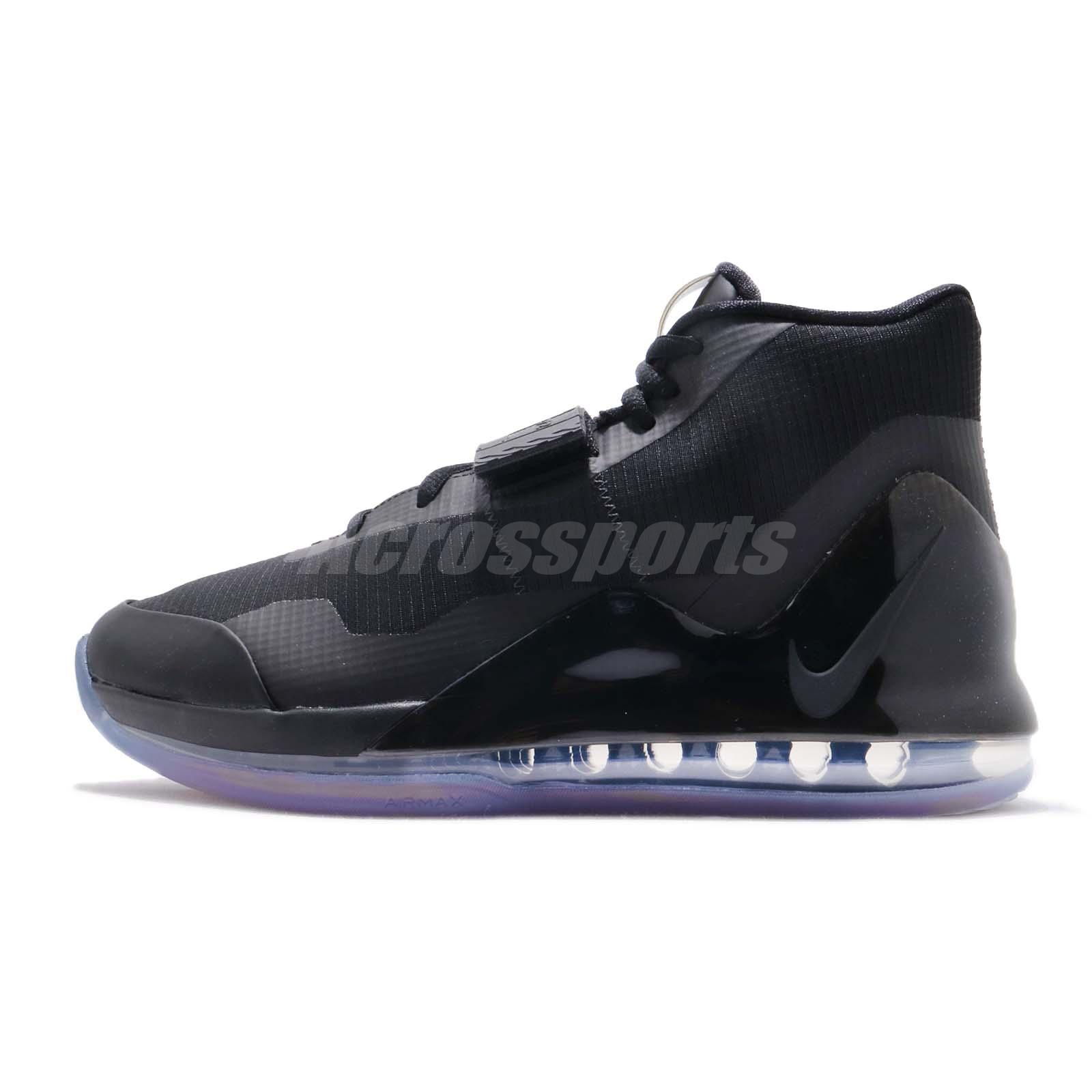 Athletic Shoes Fashion Style Nike Air Force Max Ep Black Anthracite Men Basketball Shoes Sneakers Ar0975-003