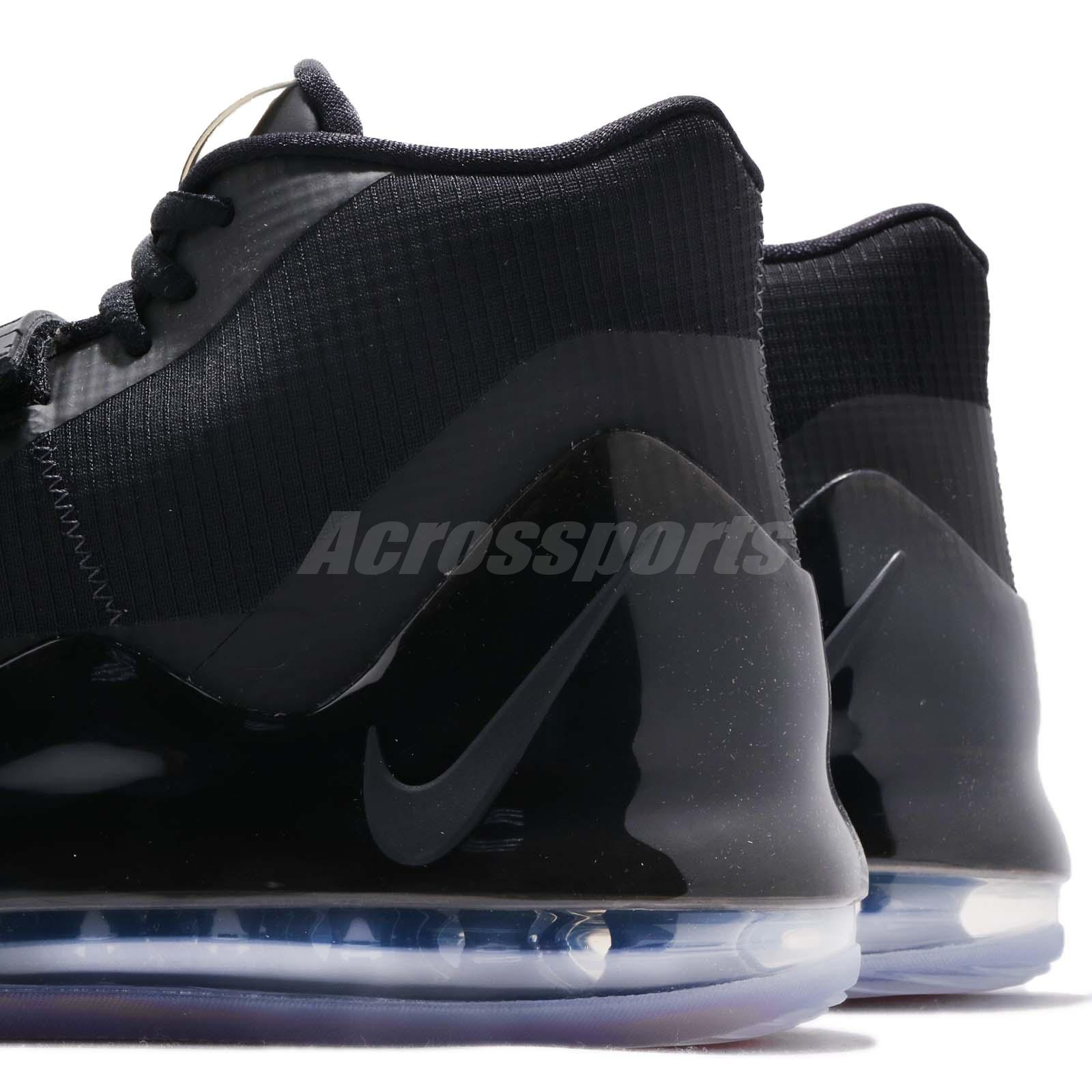 59ec9af261 Nike Air Force Max EP Black Anthracite Men Basketball Shoes Sneakers ...