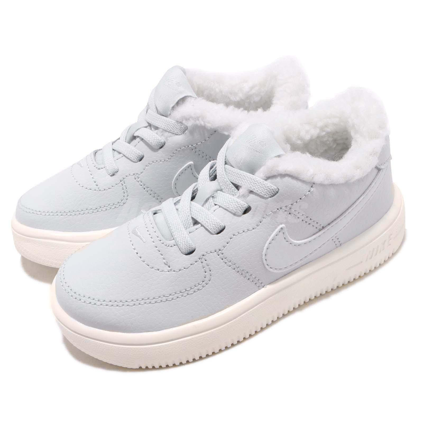 169f278521 Details about Nike Force 1 18 SE TD Pure Platinum Sail Toddler Infant Baby  Shoes AR1134-001